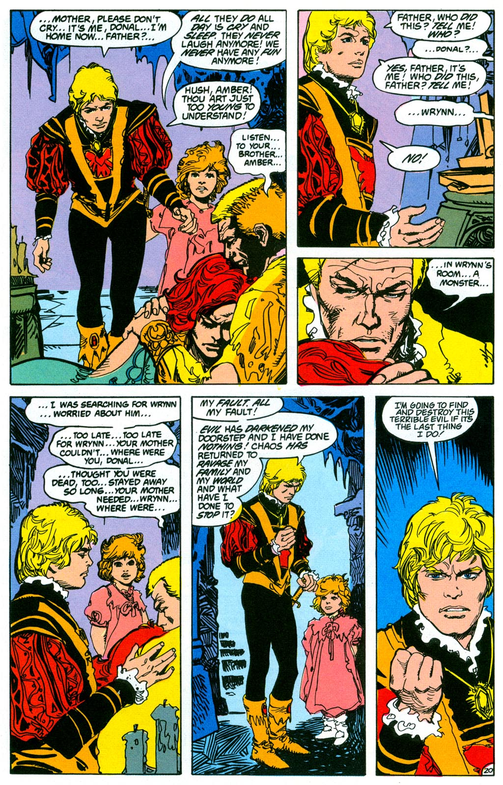 Read online Amethyst (1987) comic -  Issue #2 - 23