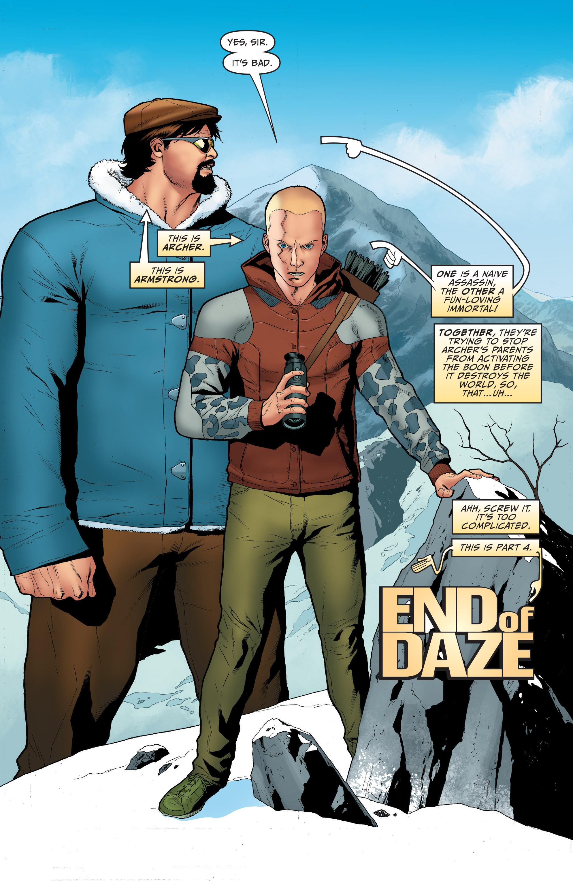 Read online Archer and Armstrong comic -  Issue #Archer and Armstrong _TPB 1 - 80