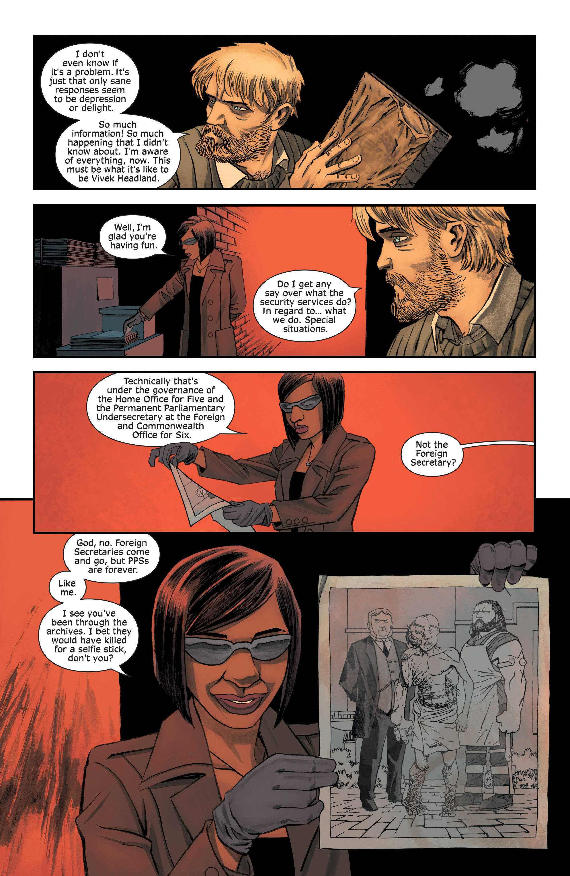 Read online Injection comic -  Issue #13 - 12