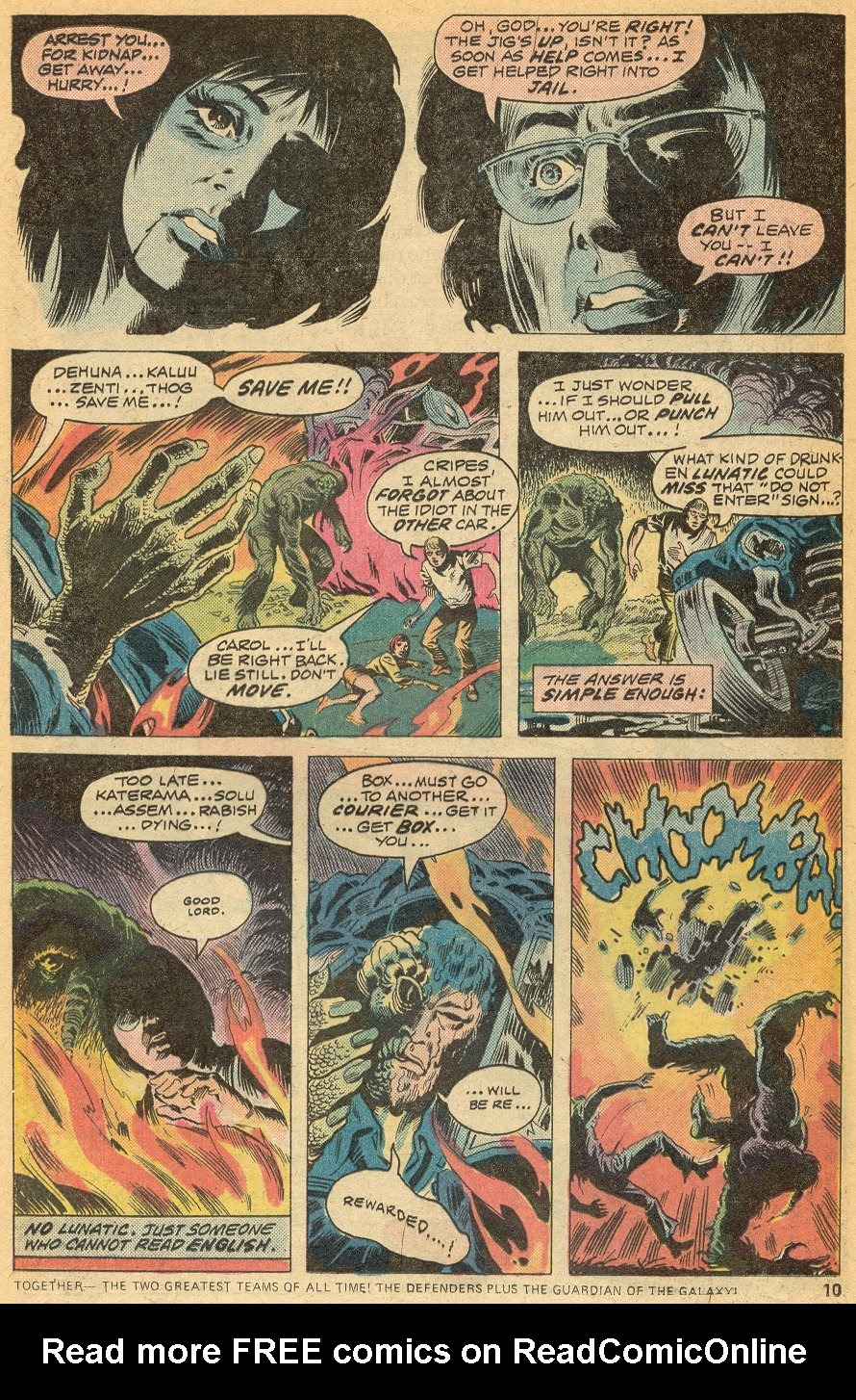 Man-Thing (1974) issue 20 - Page 7