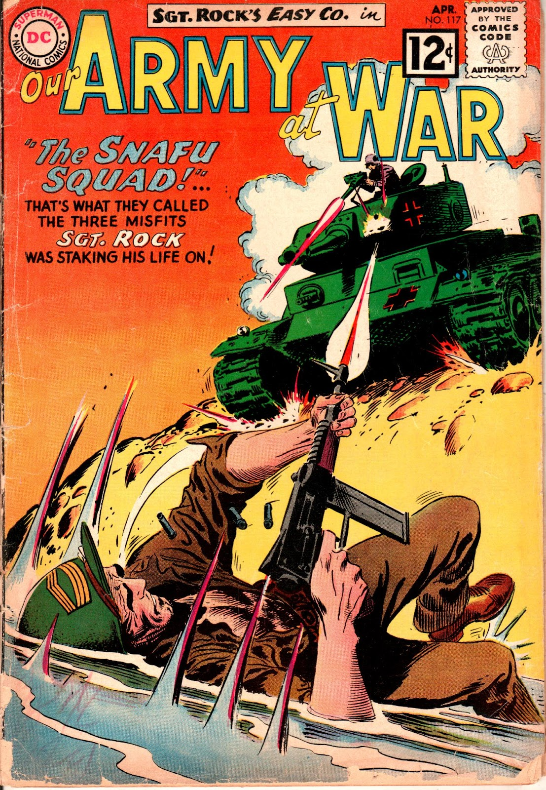 Our Army at War (1952) issue 117 - Page 1
