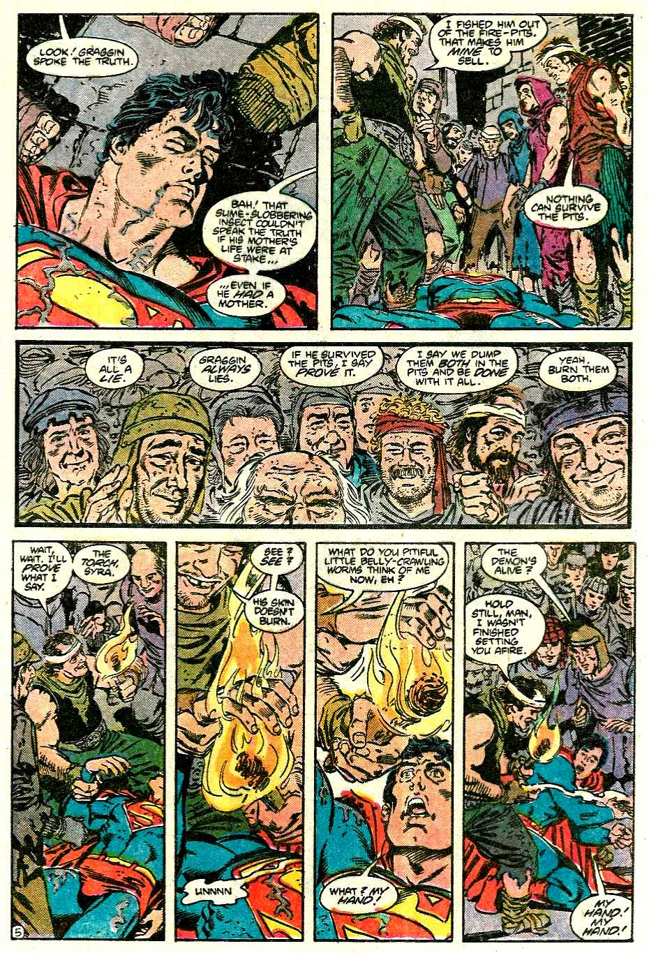 Read online Adventures of Superman (1987) comic -  Issue #426 - 6