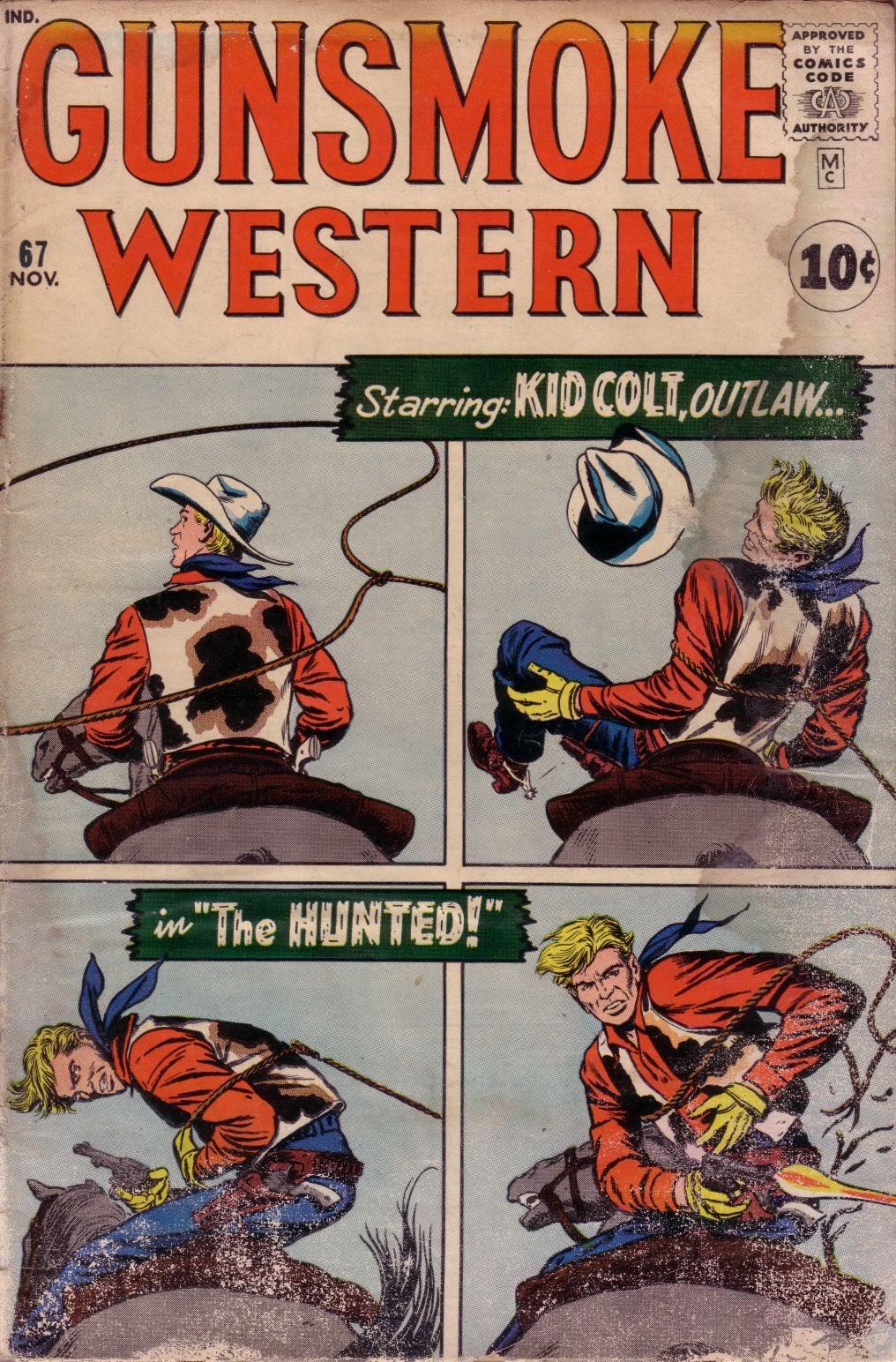 Gunsmoke Western issue 67 - Page 1