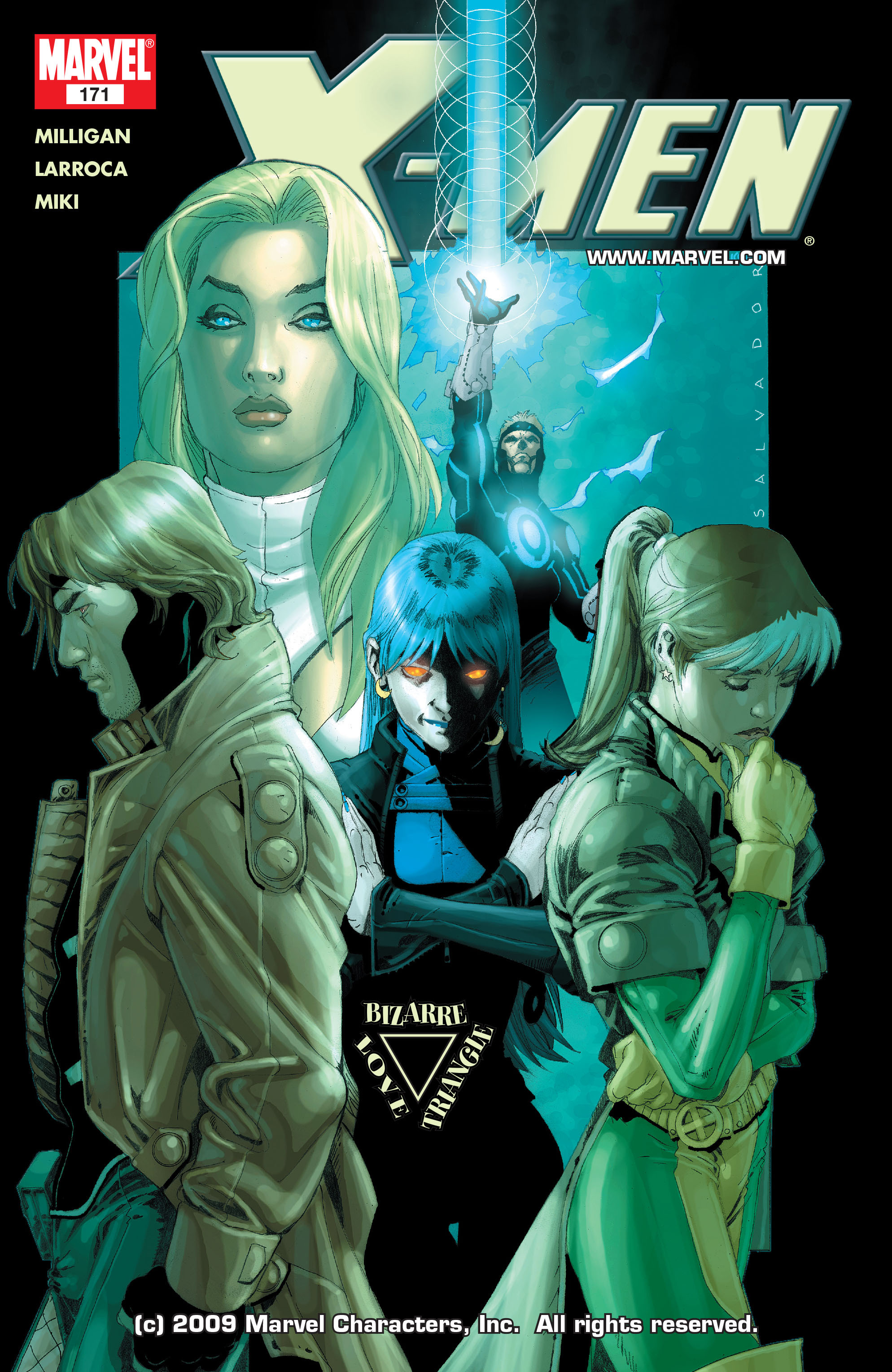 X-Men (1991) 171 Page 0