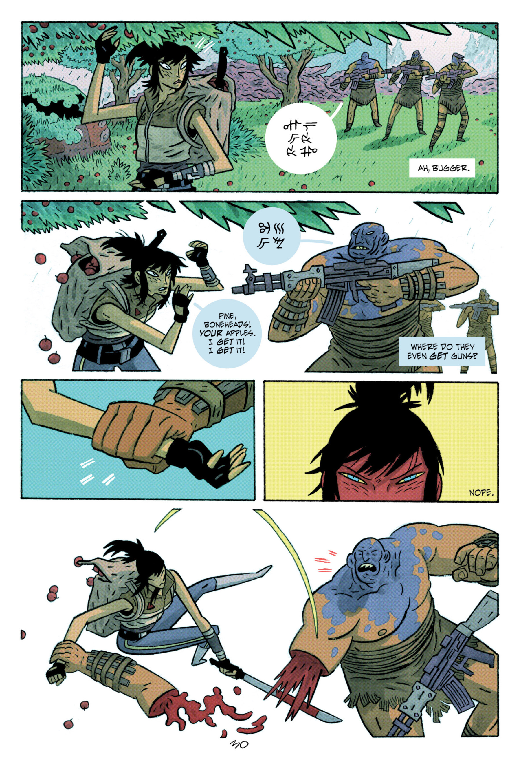 Read online ApocalyptiGirl: An Aria for the End Times comic -  Issue #ApocalyptiGirl: An Aria for the End Times Full - 38