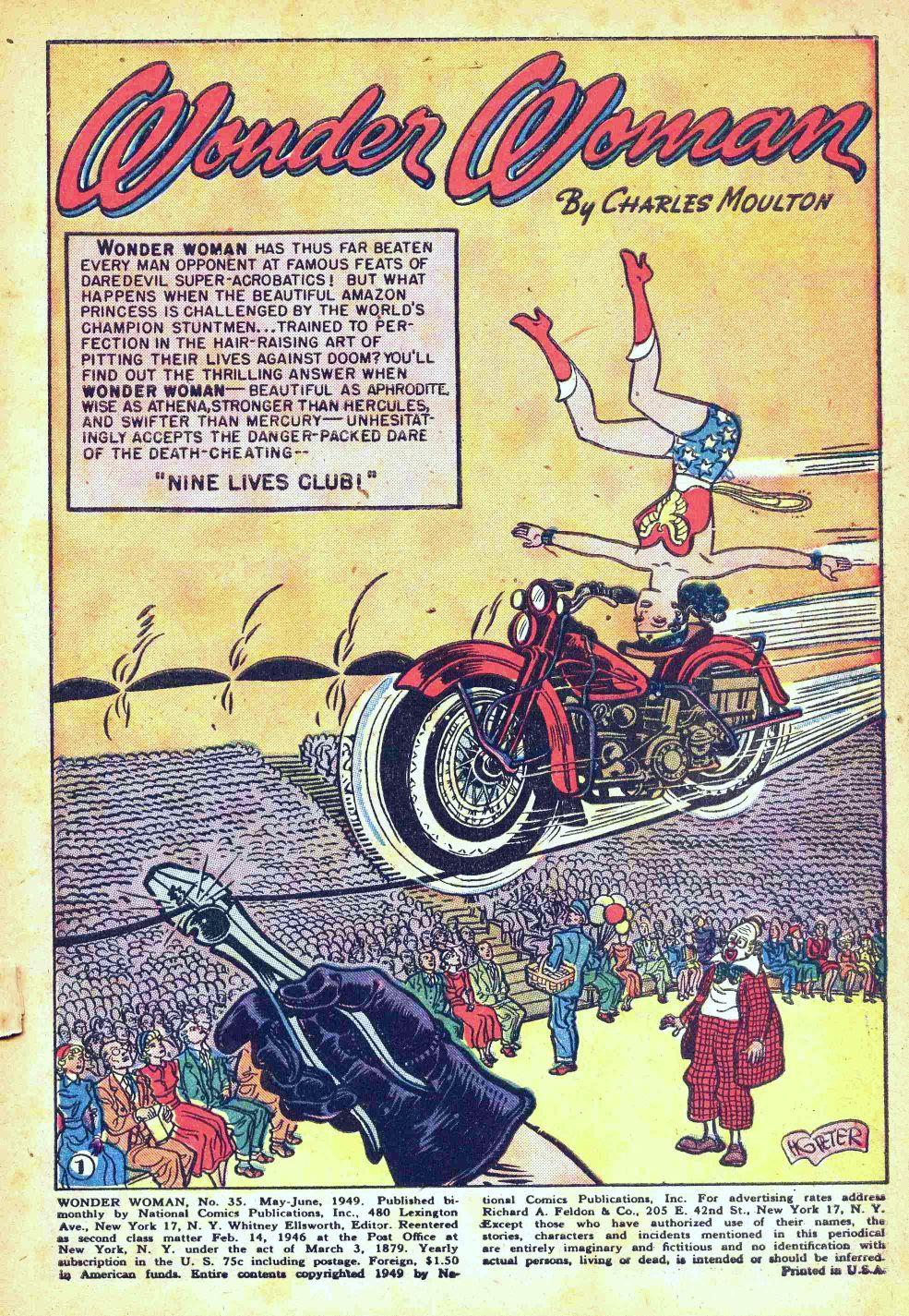 Read online Wonder Woman (1942) comic -  Issue #35 - 3