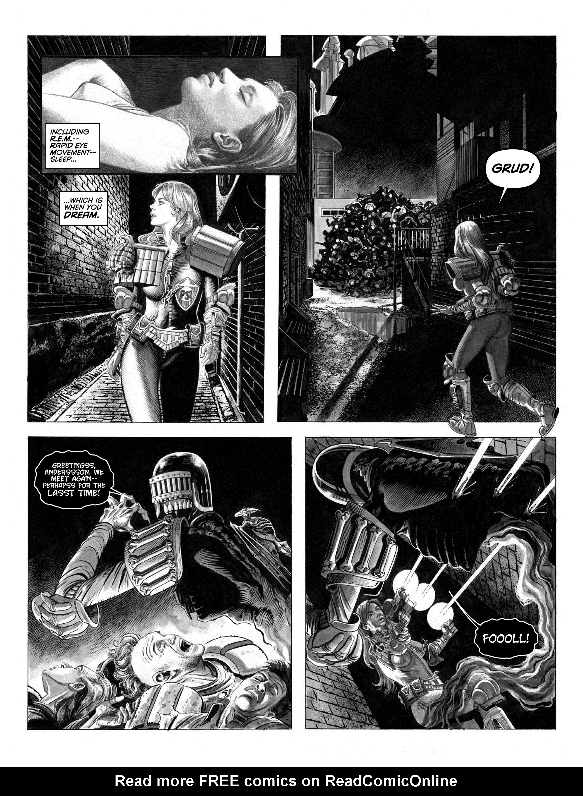 Read online 2000 AD comic -  Issue #2000 - 34