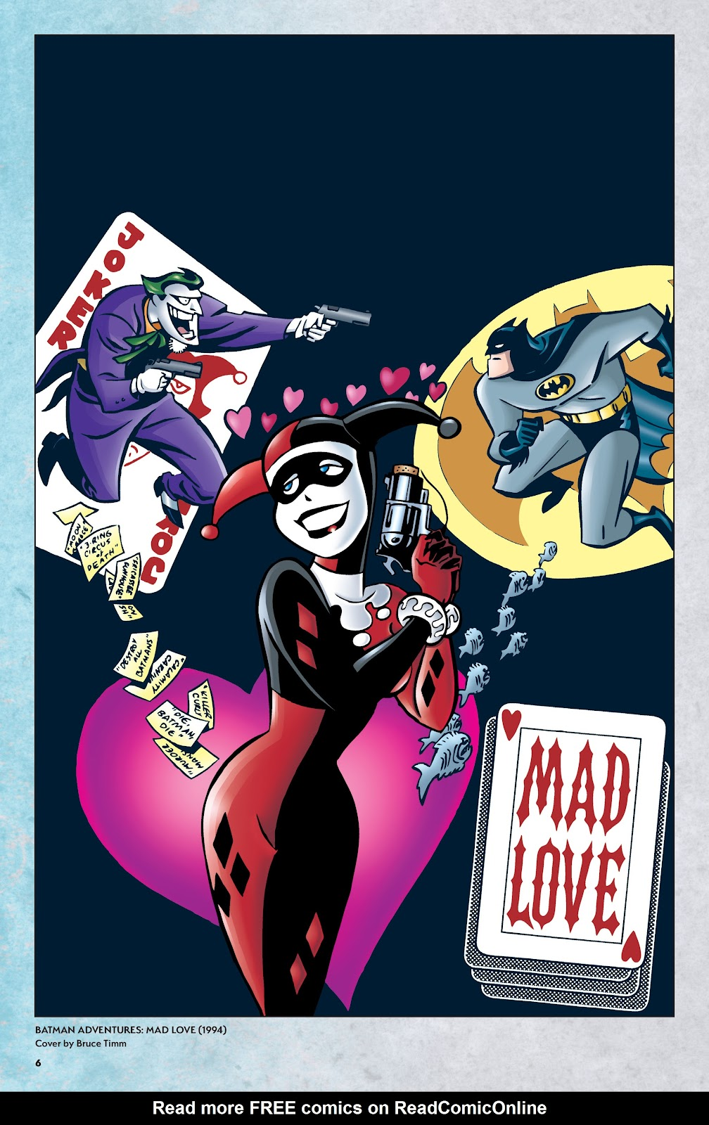 Read online Harley Quinn: A Rogue's Gallery―The Deluxe Cover Art Collection comic -  Issue # TPB (Part 1) - 5