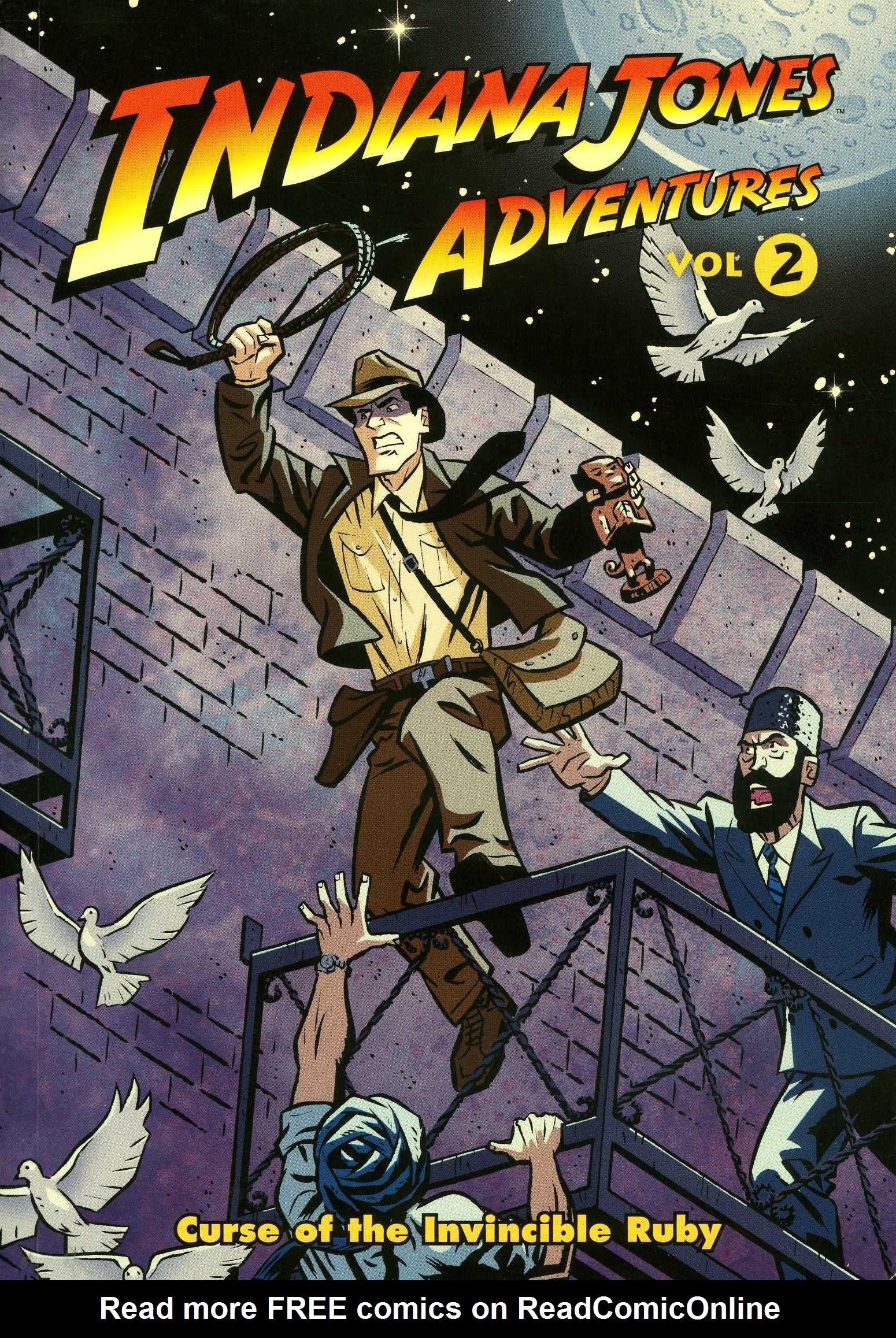 Indiana Jones Adventures 2 Page 1