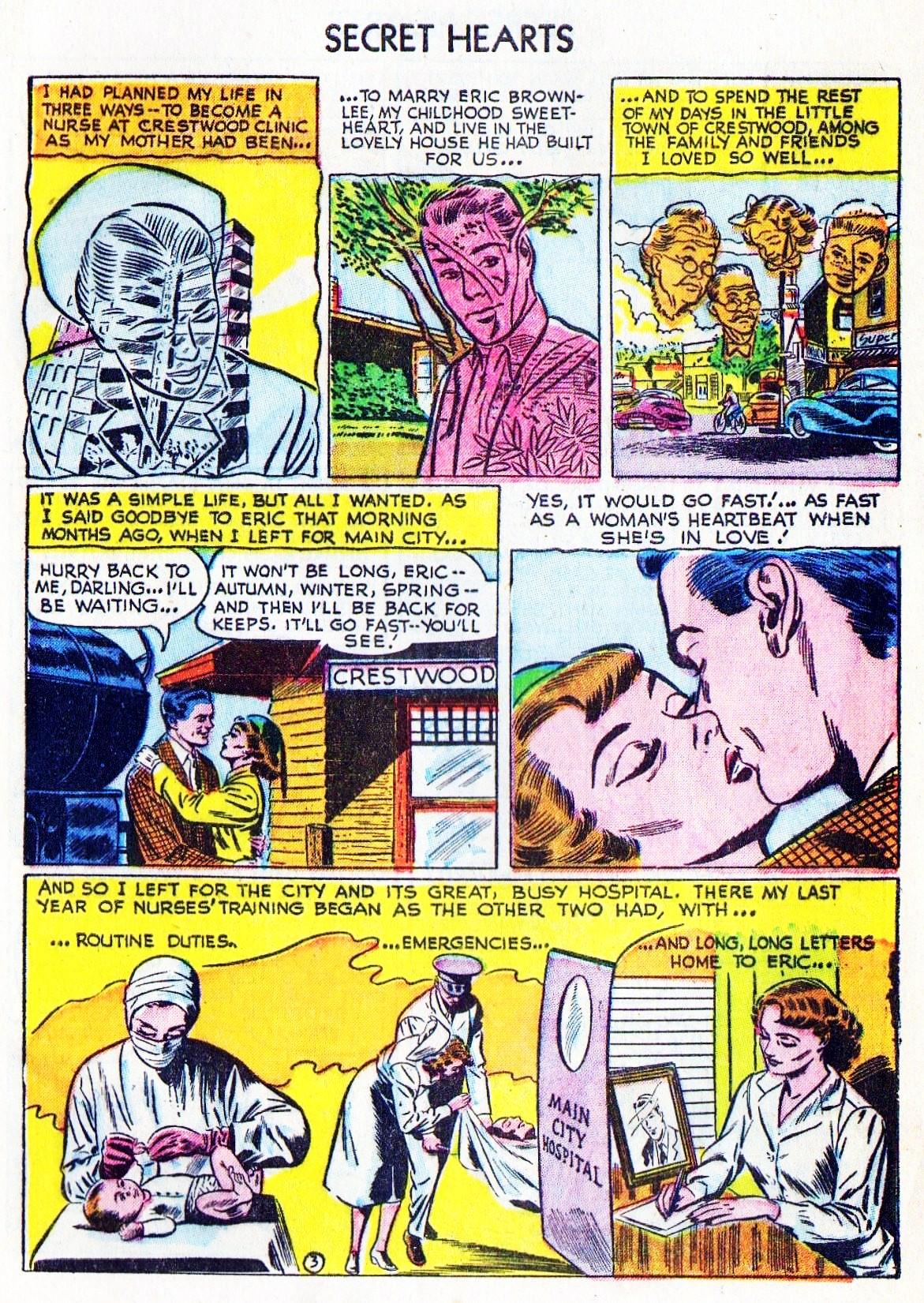 Read online Secret Hearts comic -  Issue #15 - 5