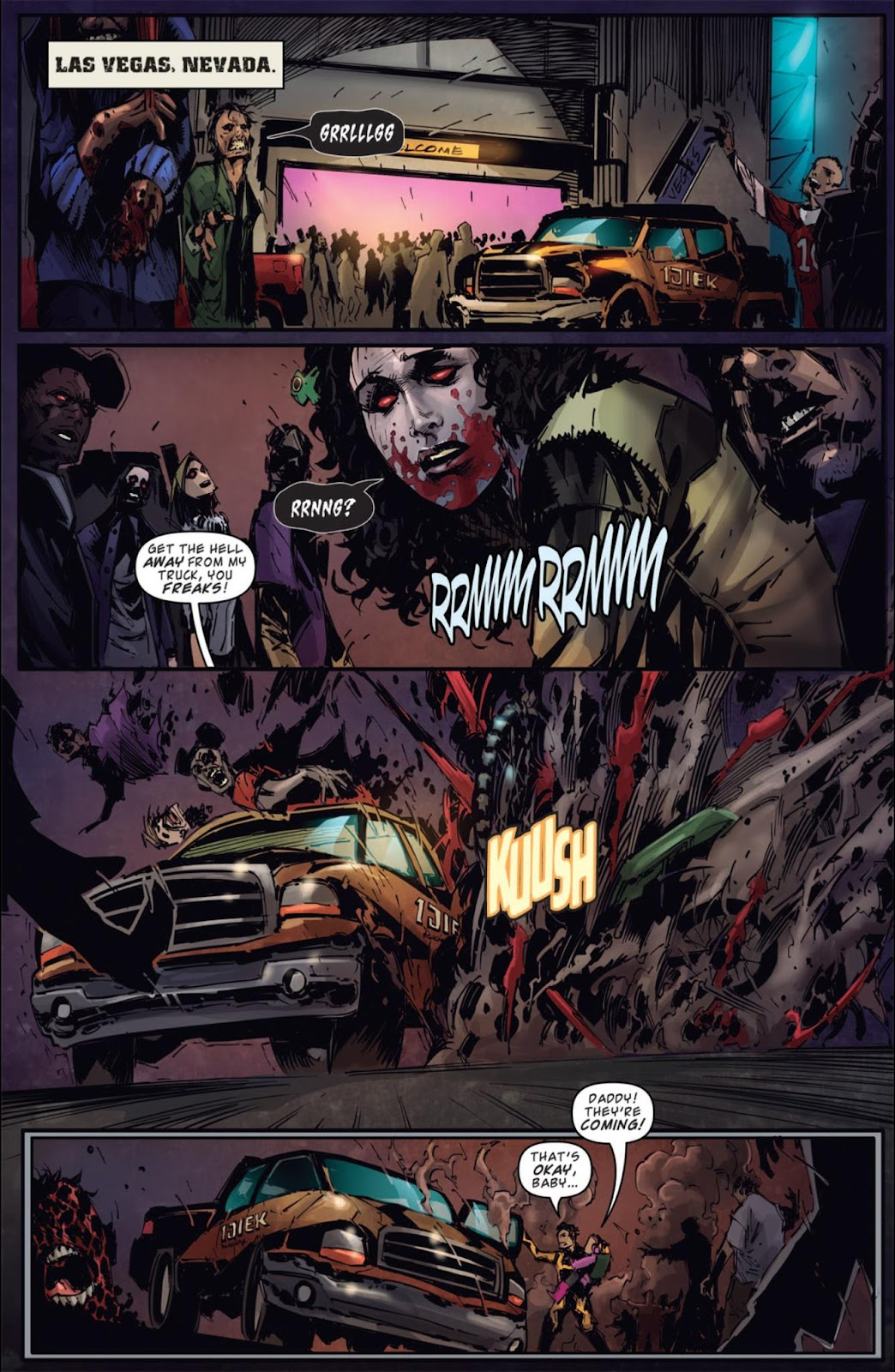 Read online Dead Rising: Road to Fortune comic -  Issue #4 - 4