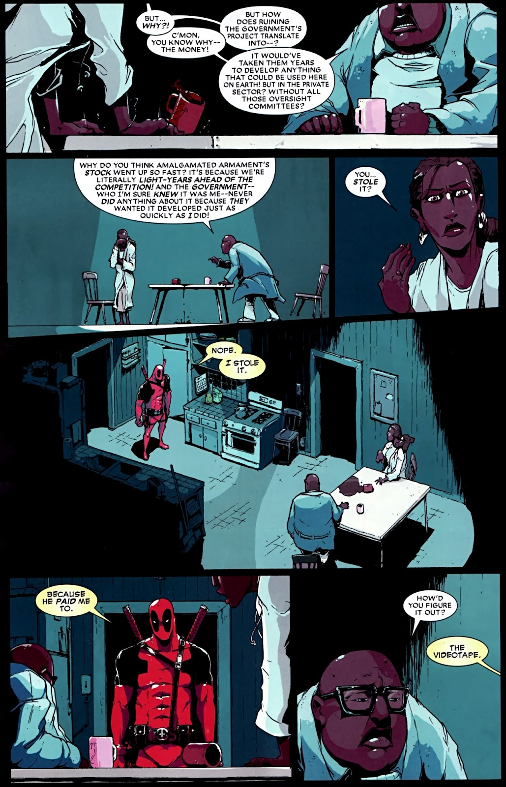 Read online Deadpool (2008) comic -  Issue #32 - 10