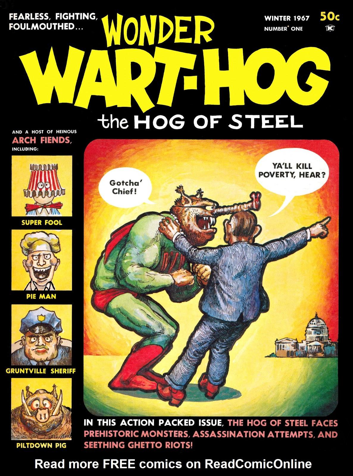 Wonder Wart-Hog issue 1 - Page 1