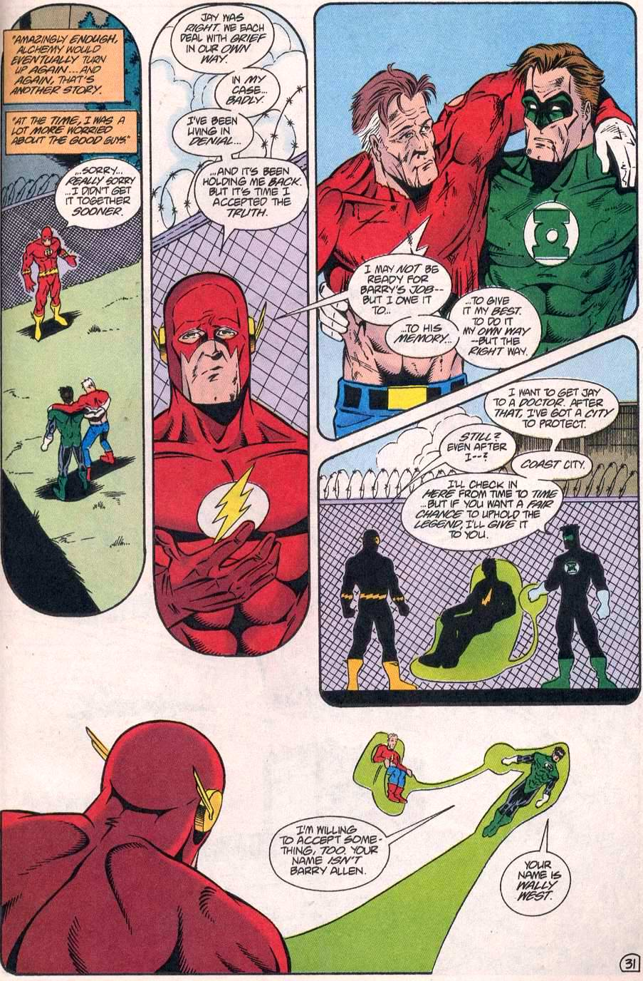 Read online The Flash (1987) comic -  Issue # _Annual 8 - 32