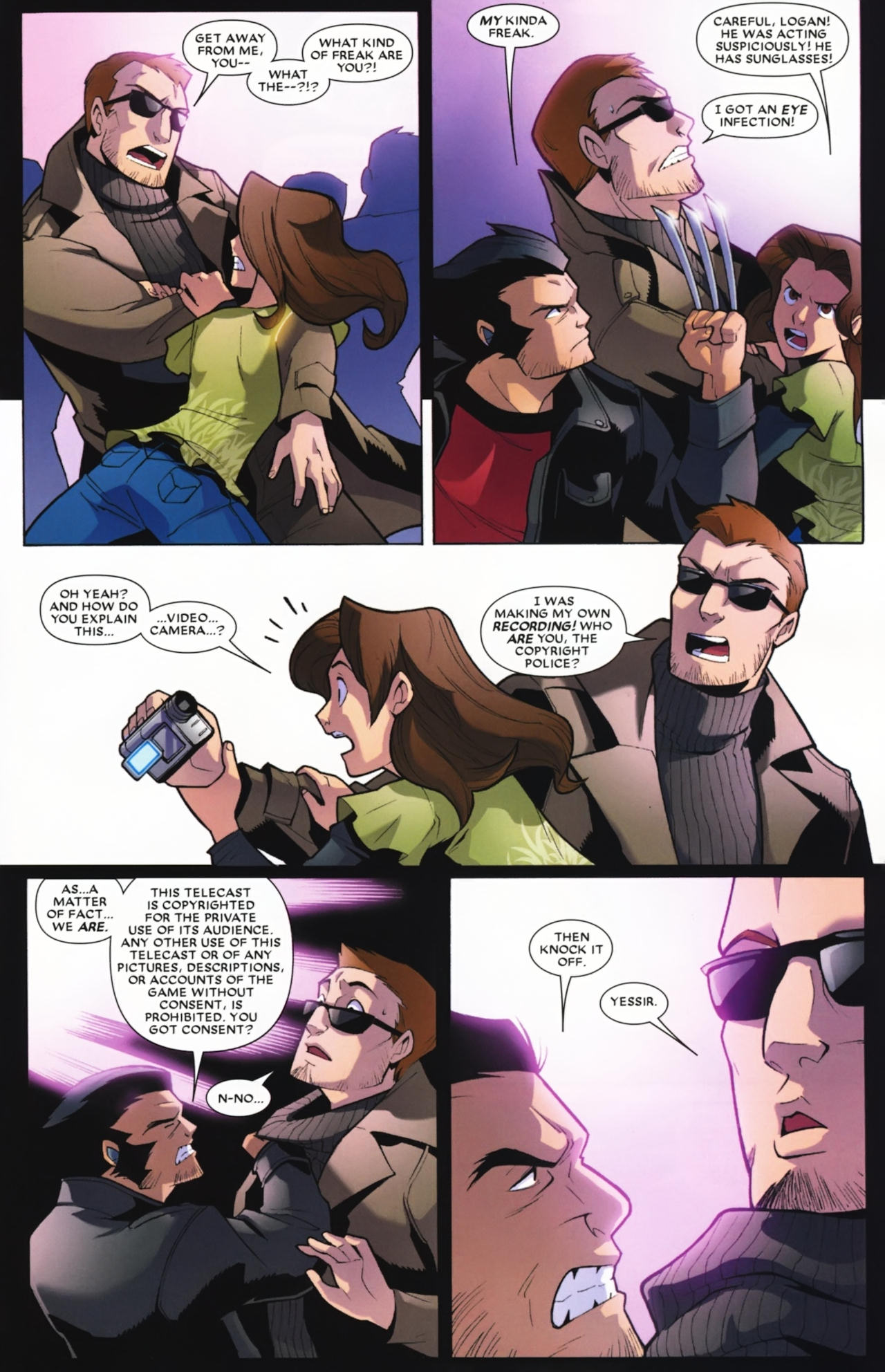 Read online Wolverine: First Class comic -  Issue #16 - 20