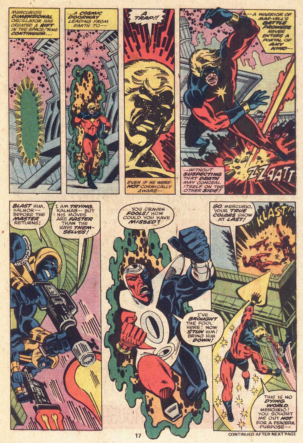 Captain Marvel (1968) issue 51 - Page 12