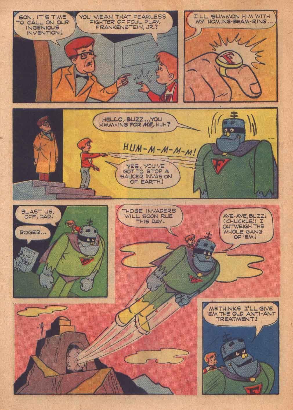 Read online Frankenstein, Jr. comic -  Issue # Full - 5