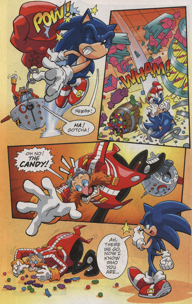 Read online Sonic X comic -  Issue #31 - 20