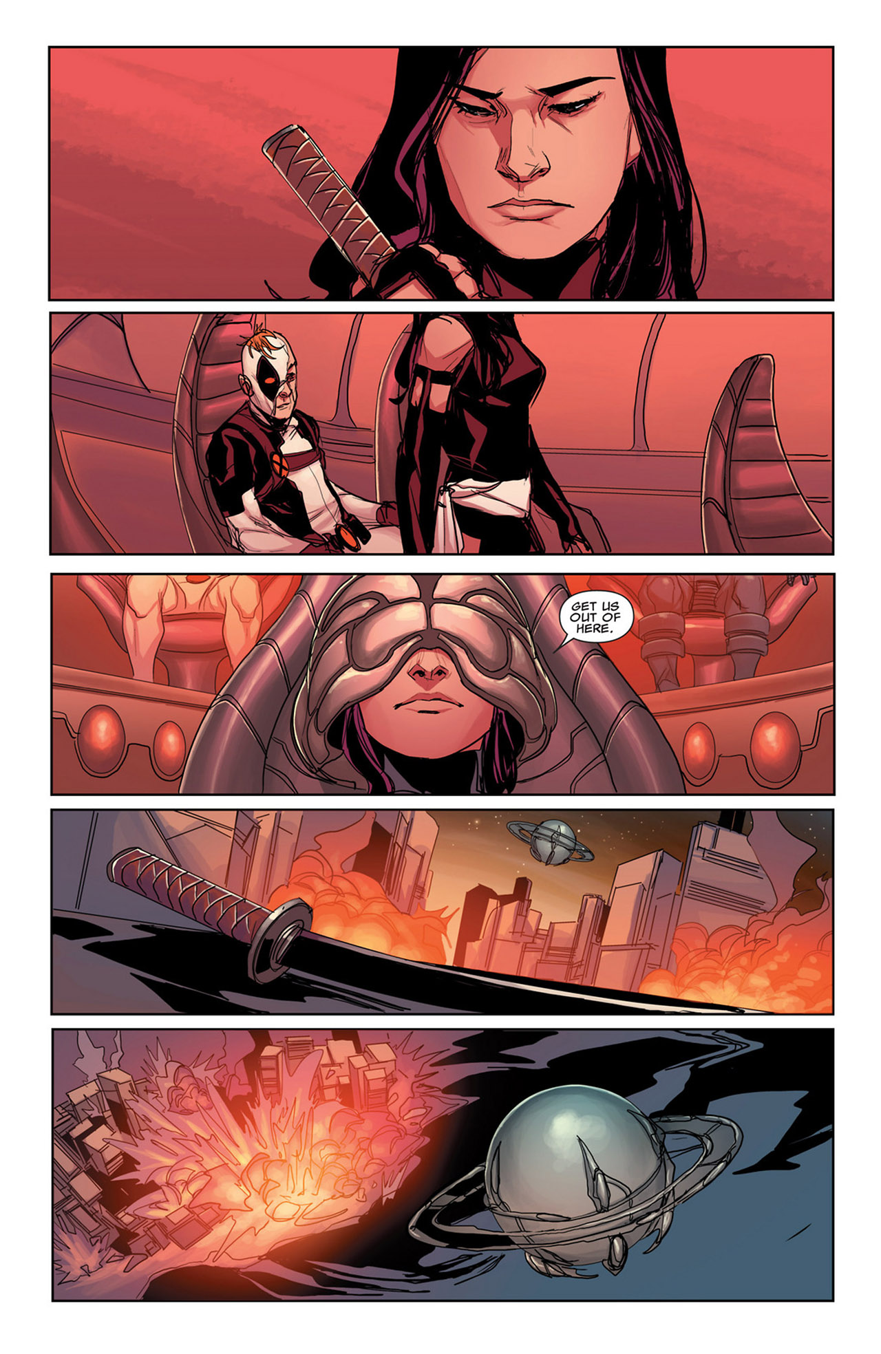 Read online Uncanny X-Force (2010) comic -  Issue #34 - 23