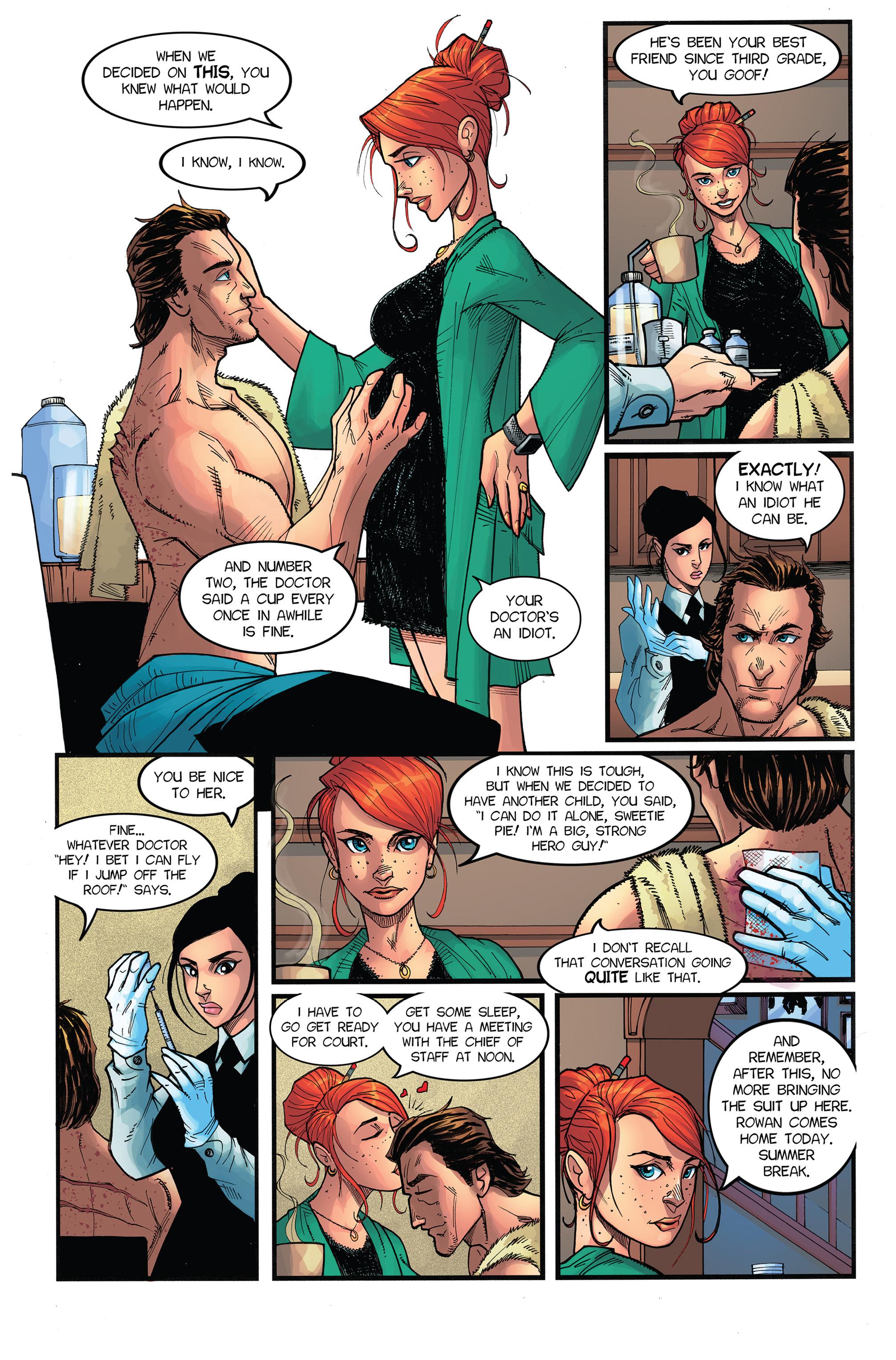 Read online Antiis Comics Presents, Vol. 1: Midknight comic -  Issue #Antiis Comics Presents, Vol. 1: Midknight Full - 13