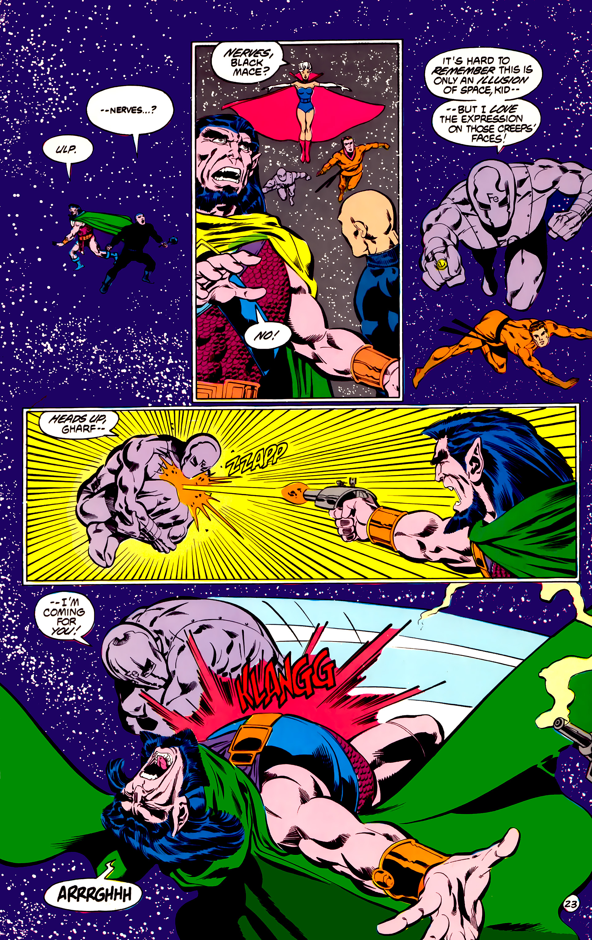 Legion of Super-Heroes (1984) 31 Page 23