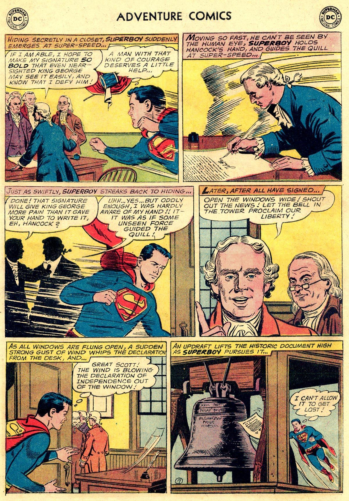 Read online Adventure Comics (1938) comic -  Issue #296 - 9