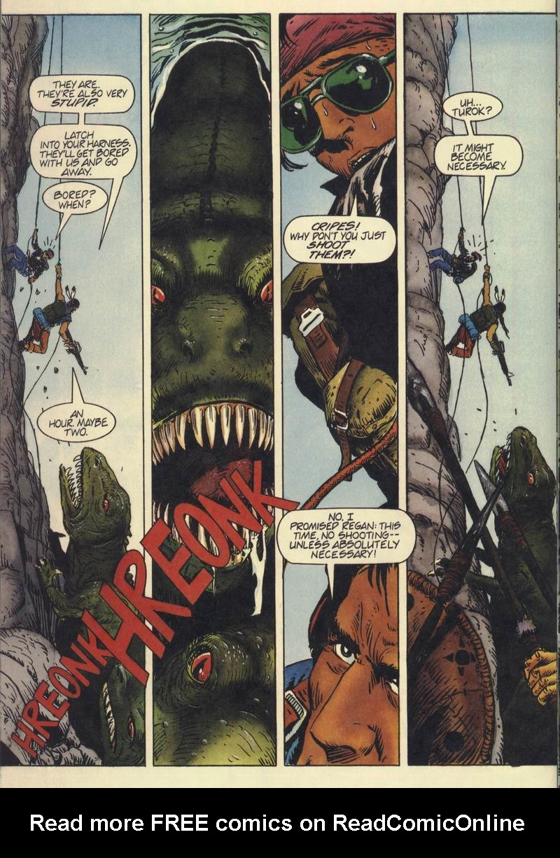 Read online Turok, Dinosaur Hunter (1993) comic -  Issue #7 - 20