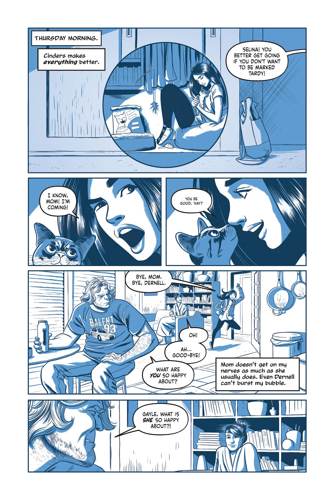 Read online Under the Moon: A Catwoman Tale comic -  Issue # TPB (Part 1) - 51