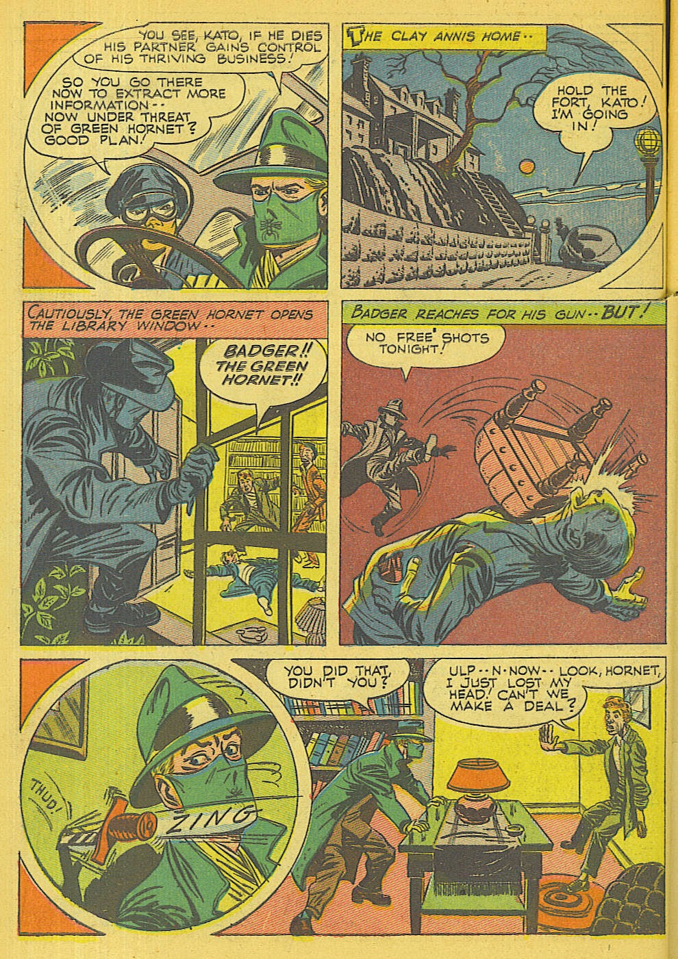 Green Hornet Comics issue 32 - Page 7