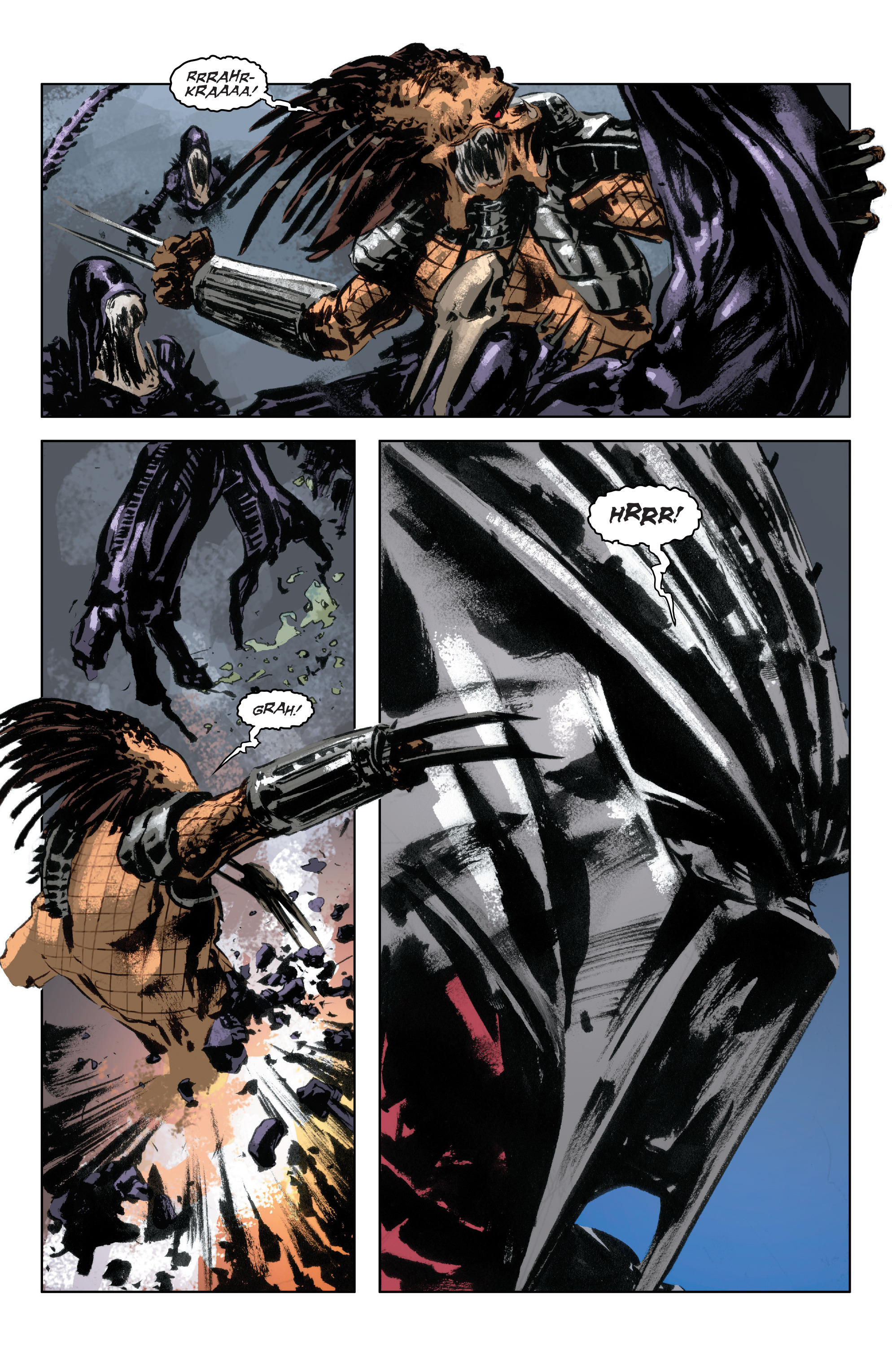 Read online Alien Vs. Predator: Life and Death comic -  Issue #3 - 20