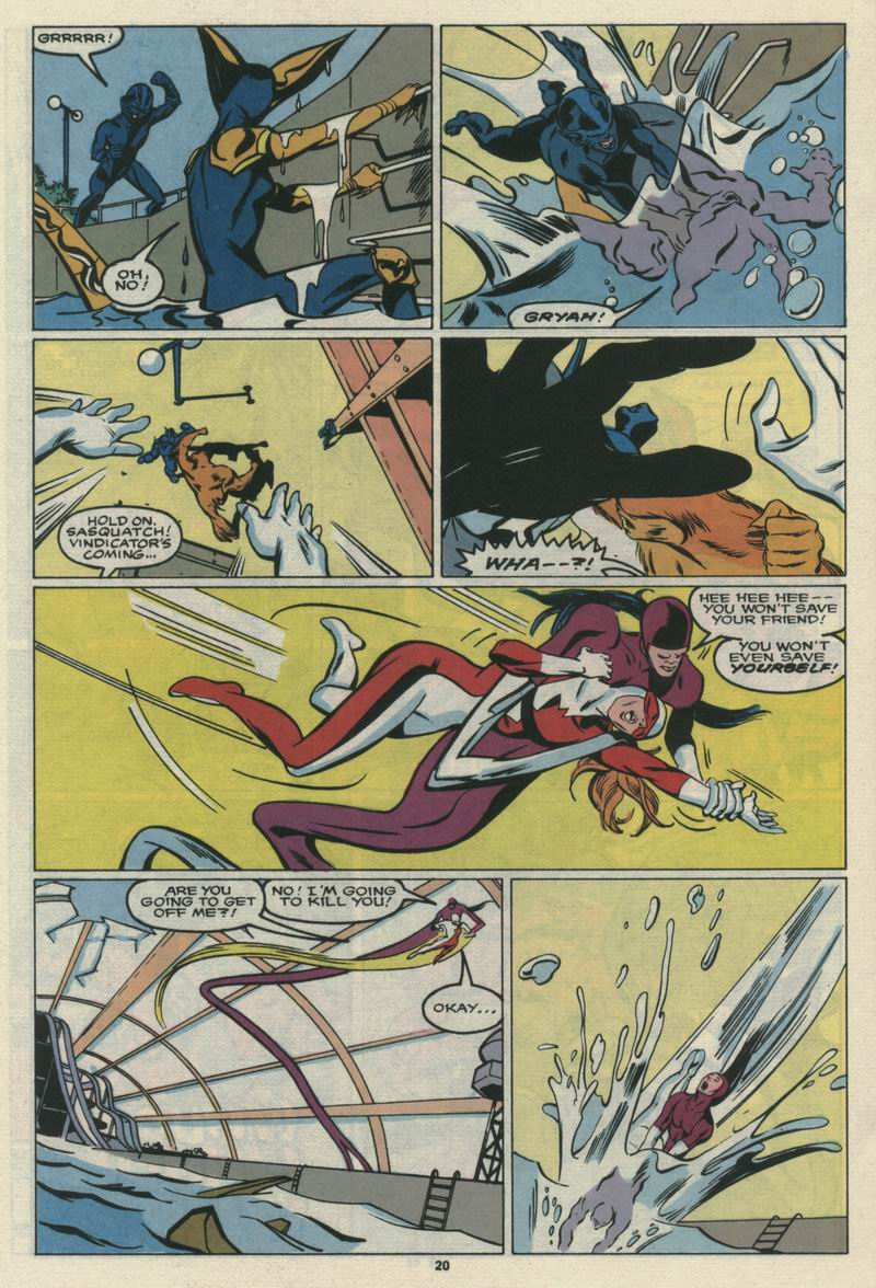 Read online Alpha Flight (1983) comic -  Issue #69 - 22