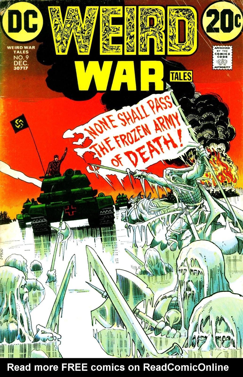 Weird War Tales (1971) issue 9 - Page 1