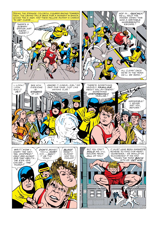 Read online Uncanny X-Men (1963) comic -  Issue #5 - 13