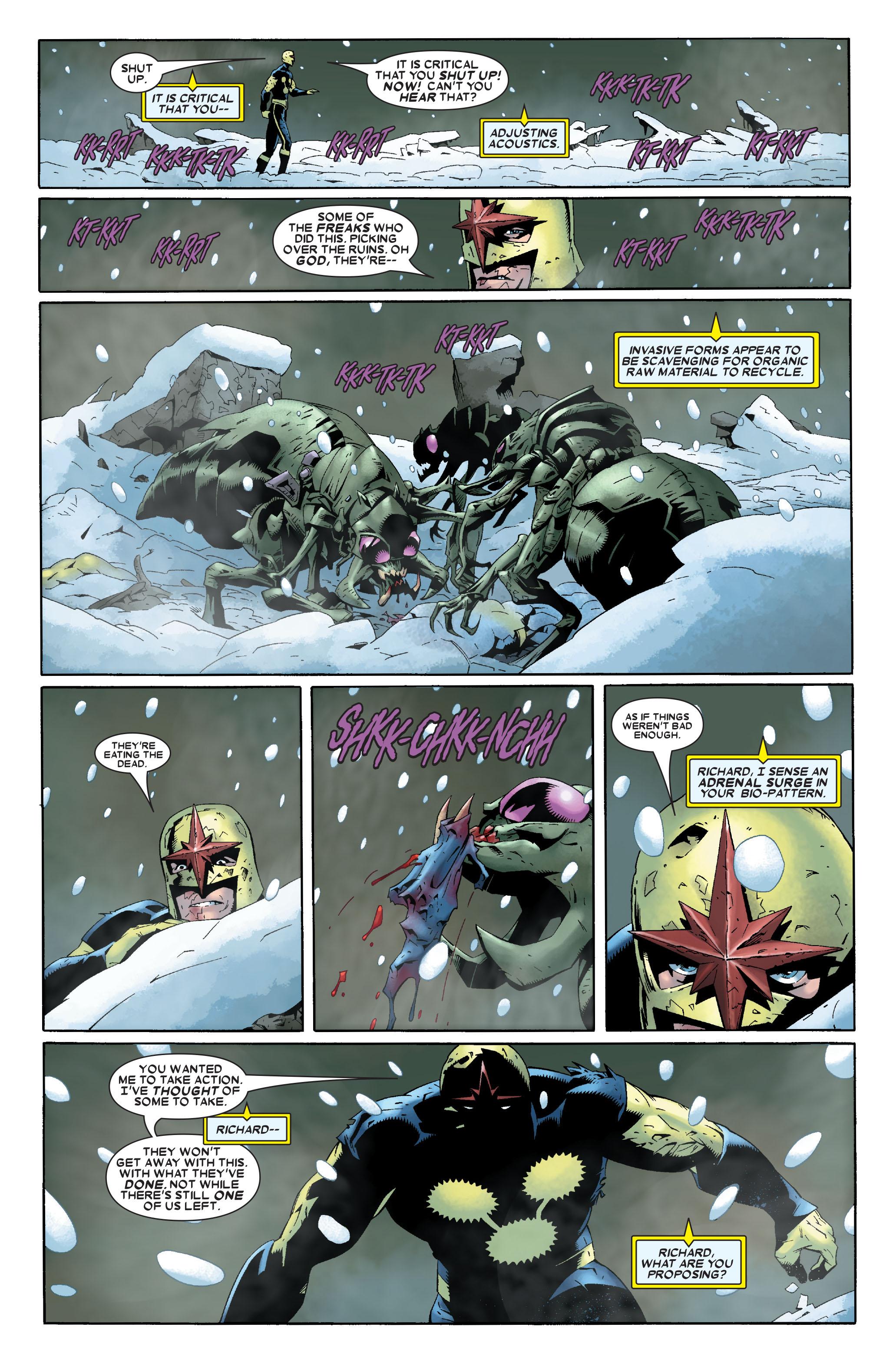 Read online Annihilation: Nova comic -  Issue #1 - 9