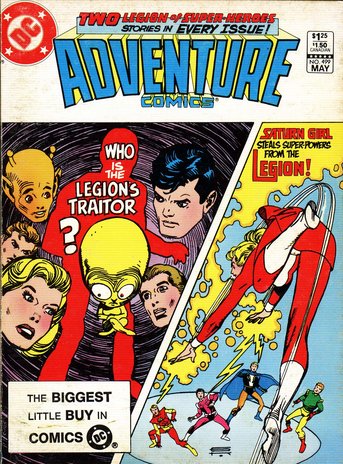 Adventure Comics (1938) 499 Page 1