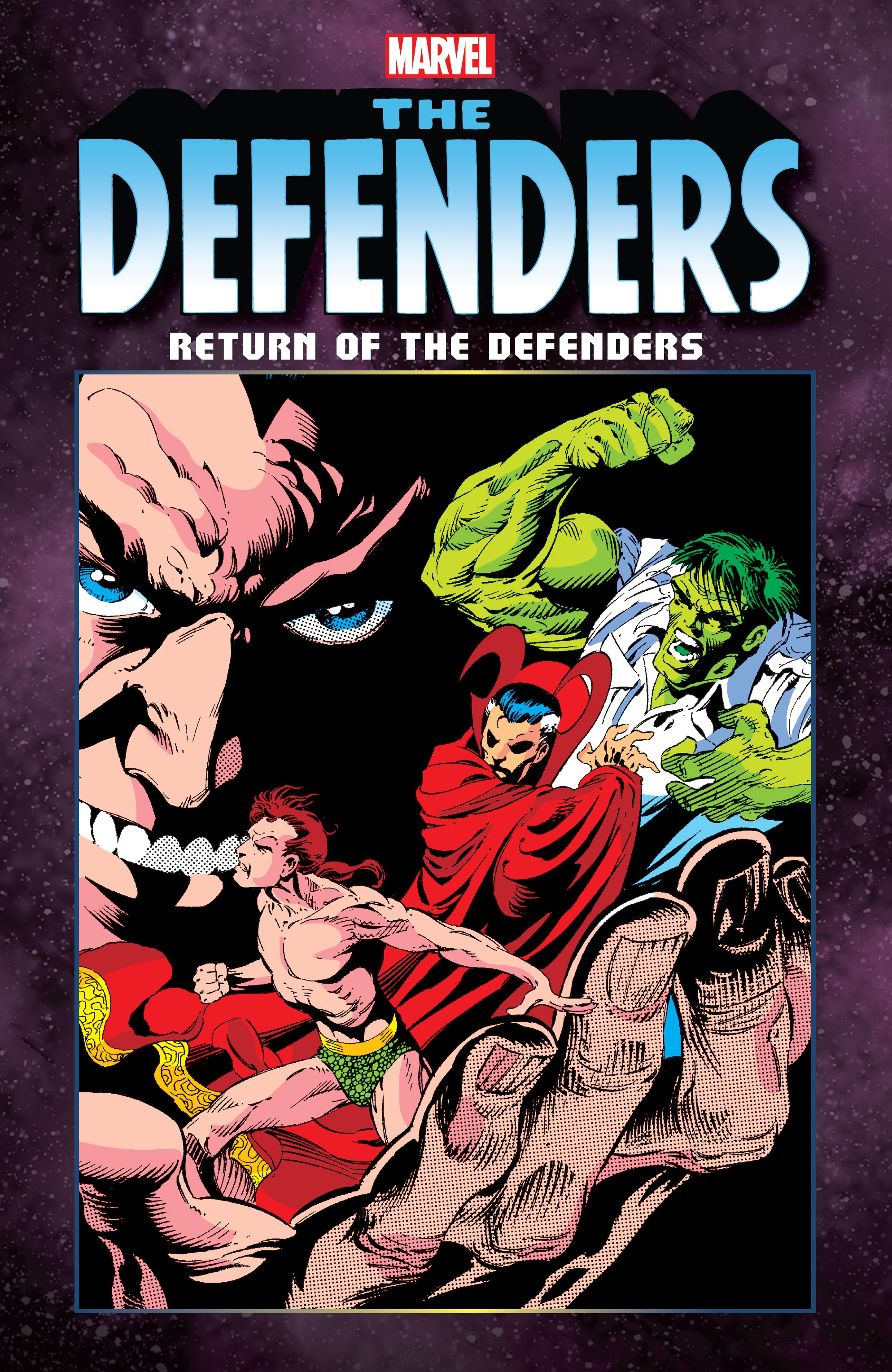 Defenders: Return of the Defenders issue TPB - Page 1