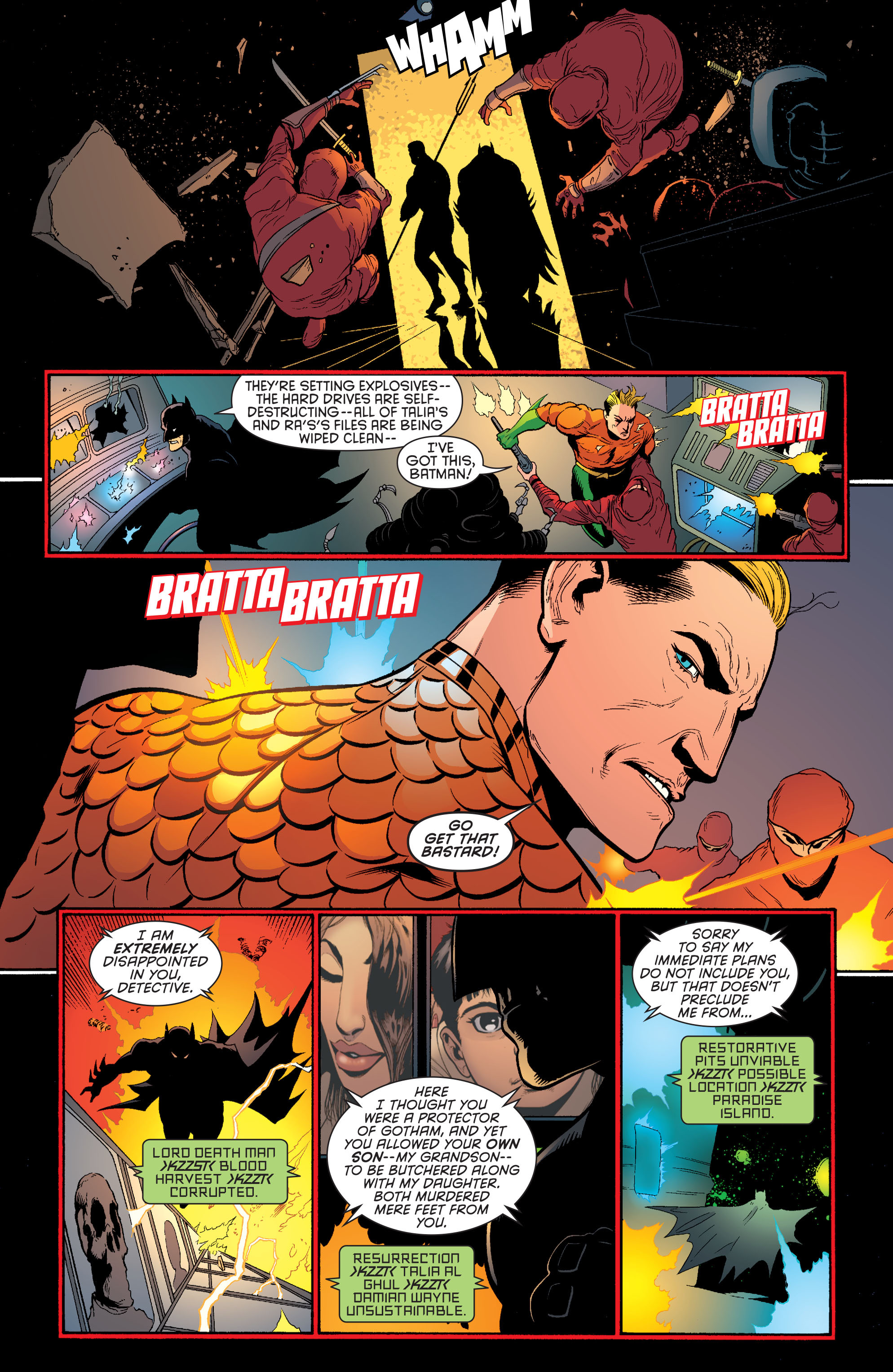 Read online Batman and Robin (2011) comic -  Issue #29 - Batman and Aquaman - 10
