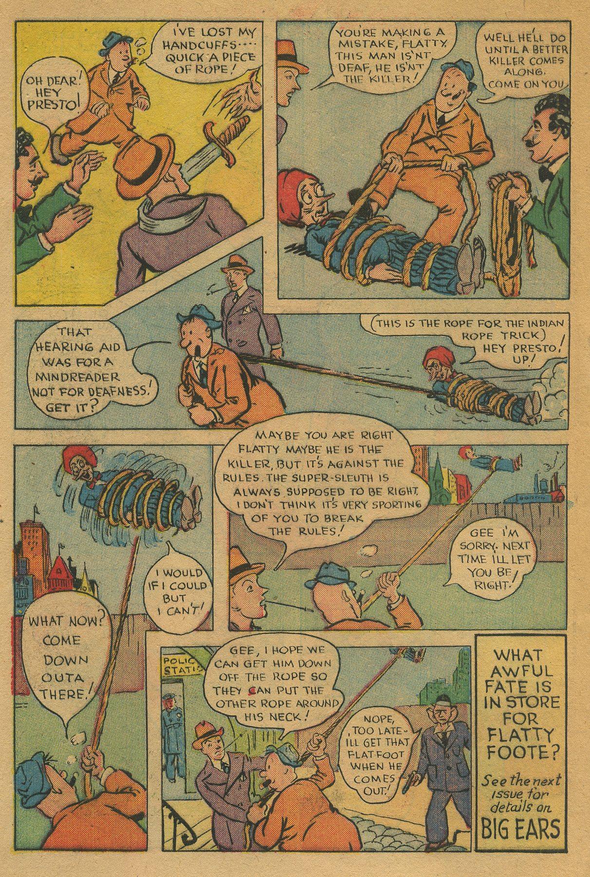 Read online Shadow Comics comic -  Issue #49 - 42