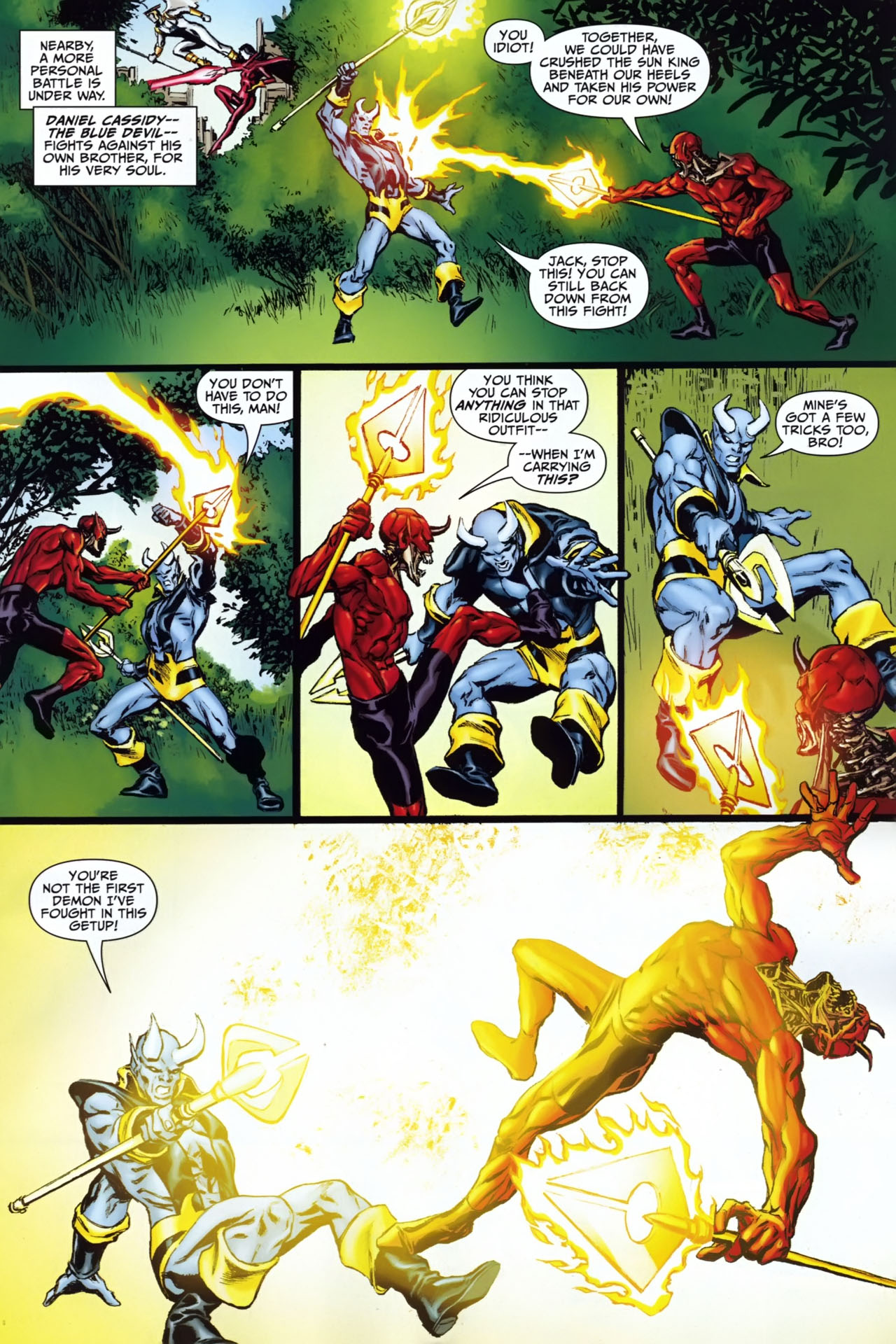 Read online Shadowpact comic -  Issue #25 - 4