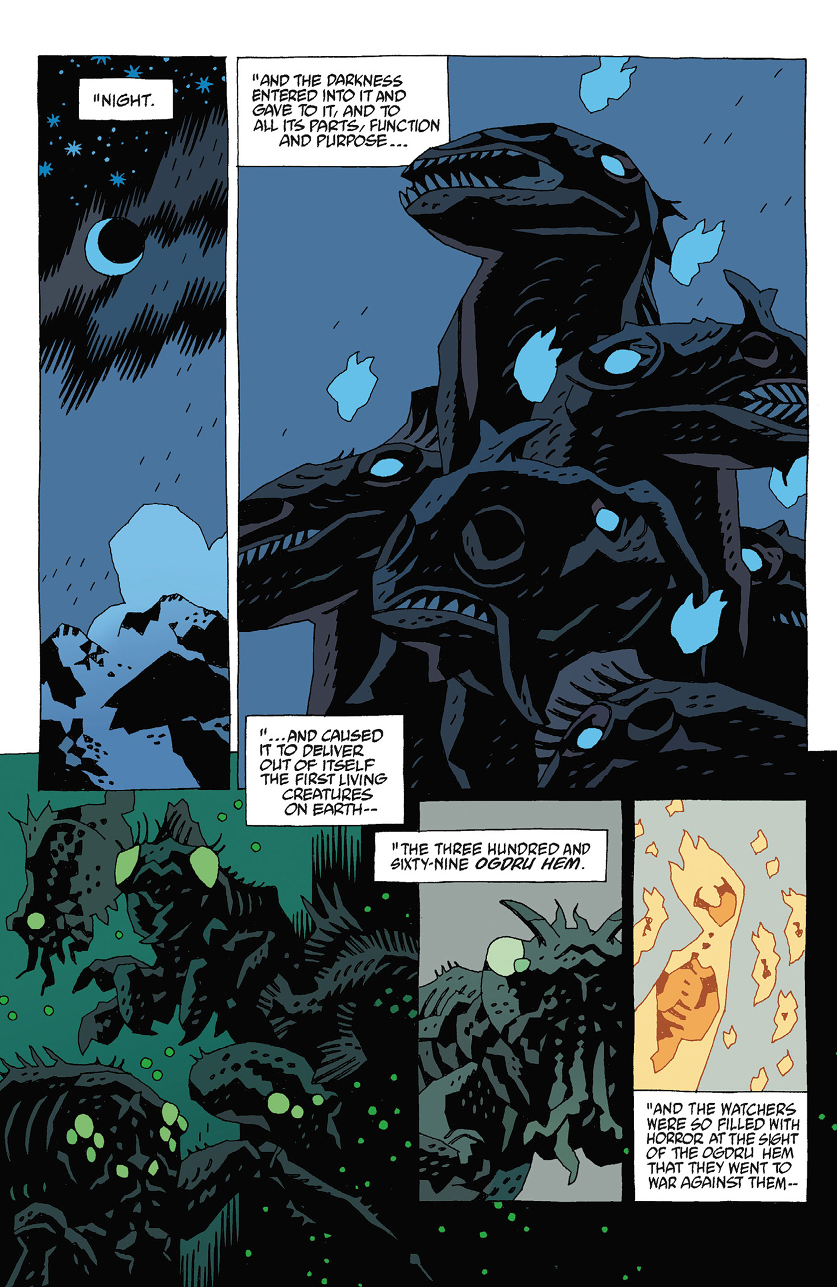Read online Hellboy: Strange Places comic -  Issue # TPB - 106