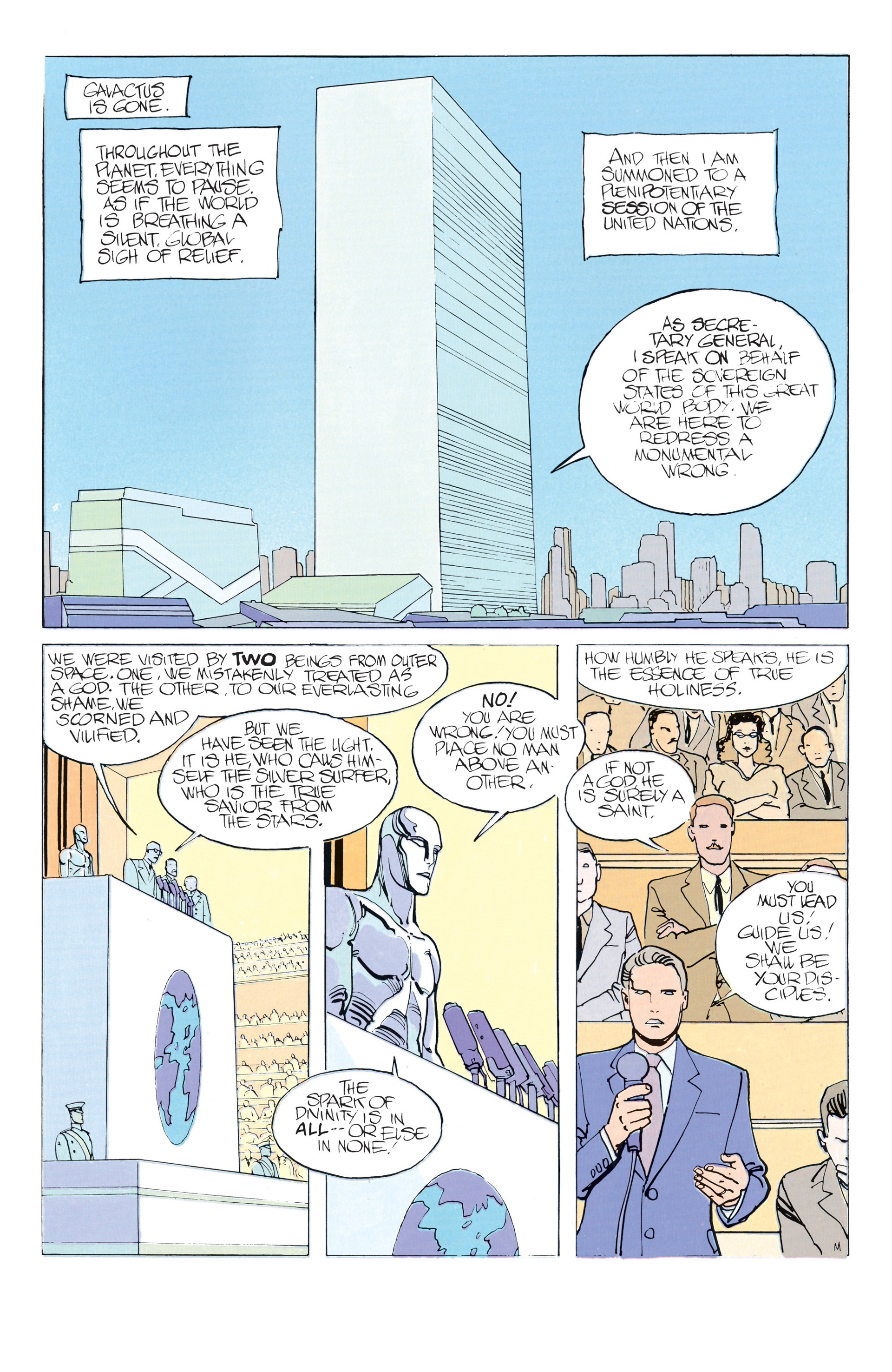 Read online Silver Surfer (1988) comic -  Issue #2 - 31