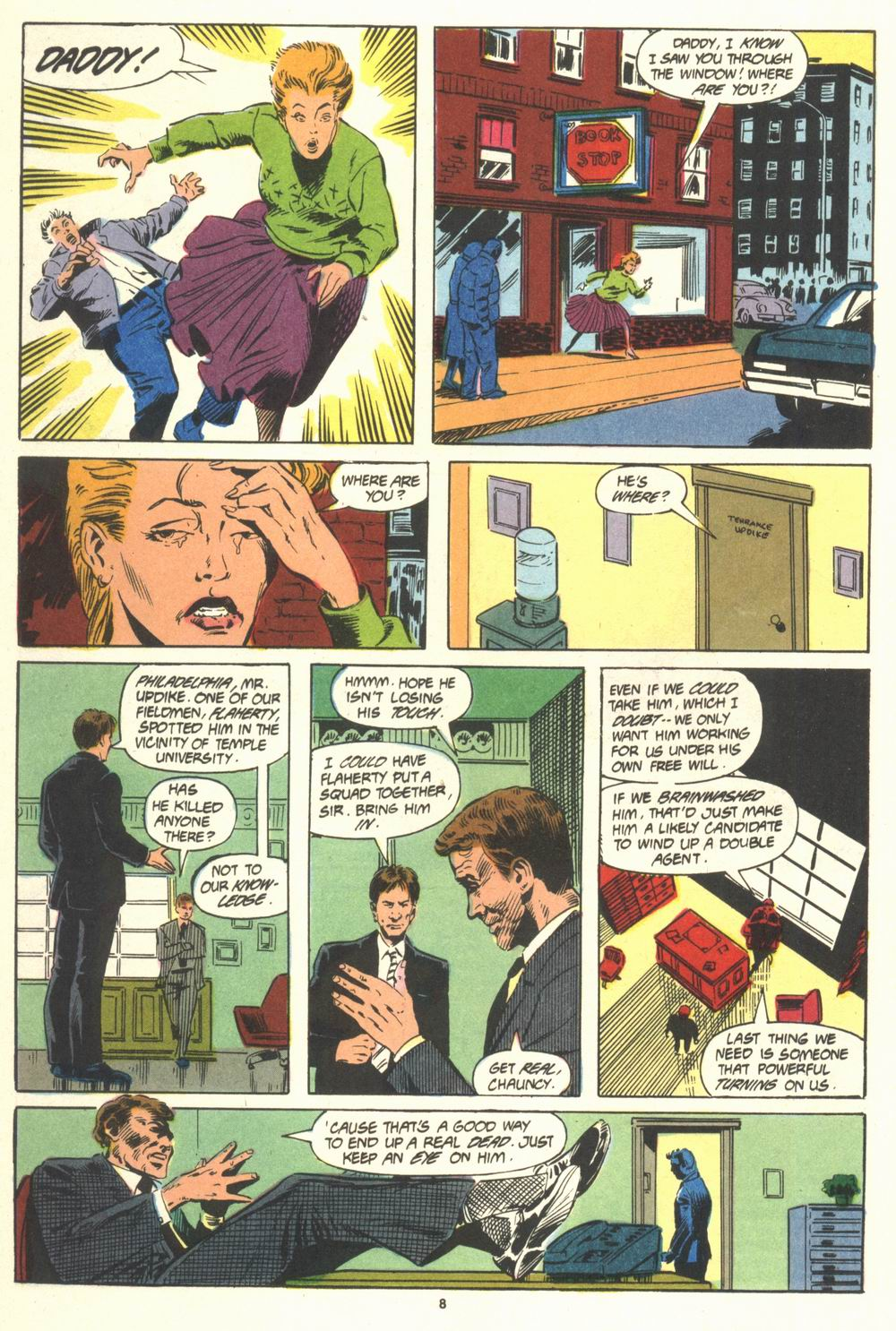 Read online Justice (1986) comic -  Issue #19 - 10