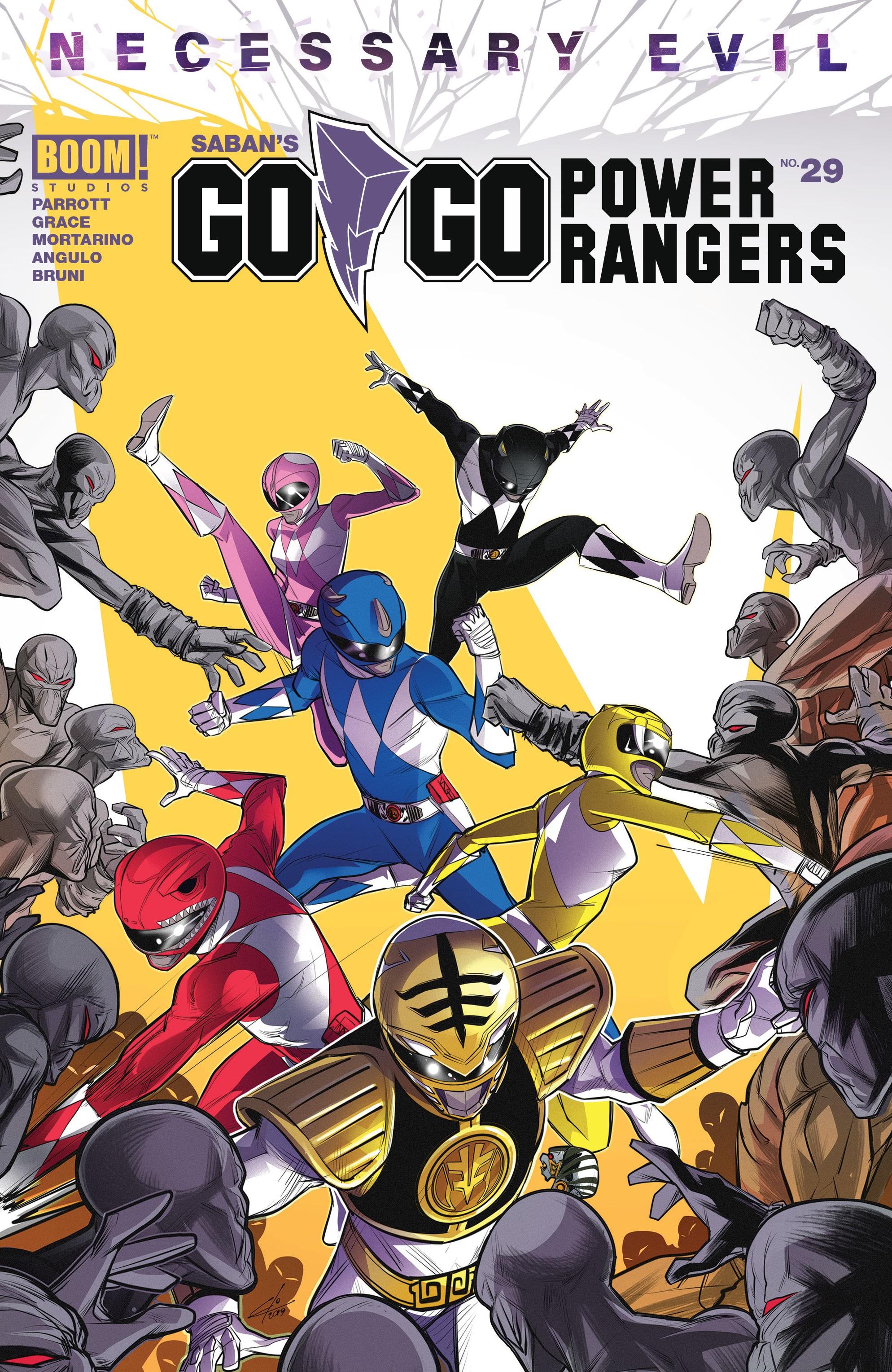 Sabans Go Go Power Rangers 29 Page 1