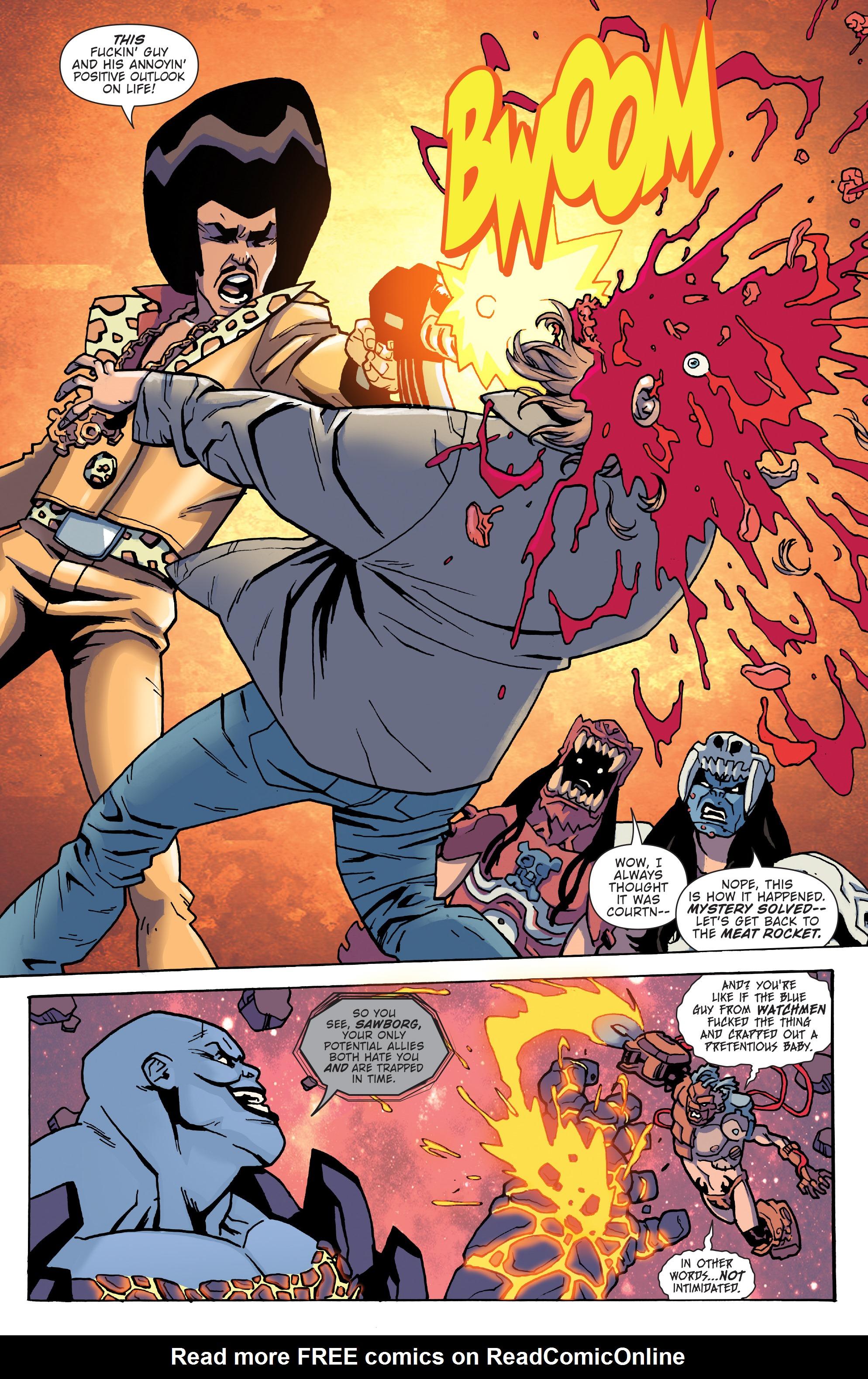 Read online Gwar: Orgasmageddon comic -  Issue #1 - 18