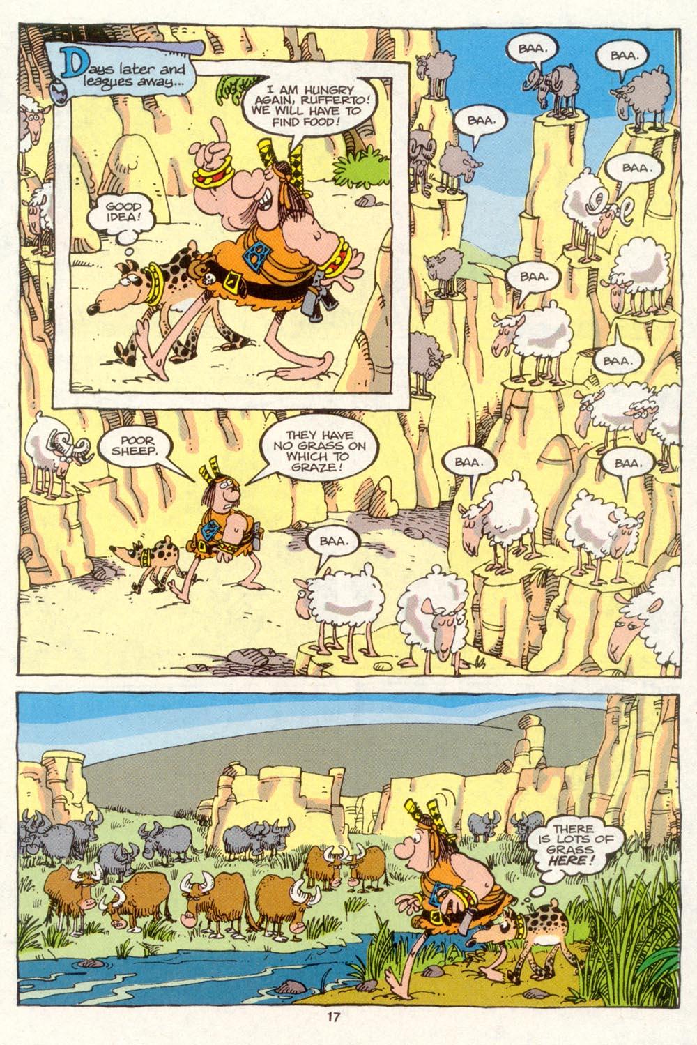 Read online Sergio Aragonés Groo the Wanderer comic -  Issue #88 - 18