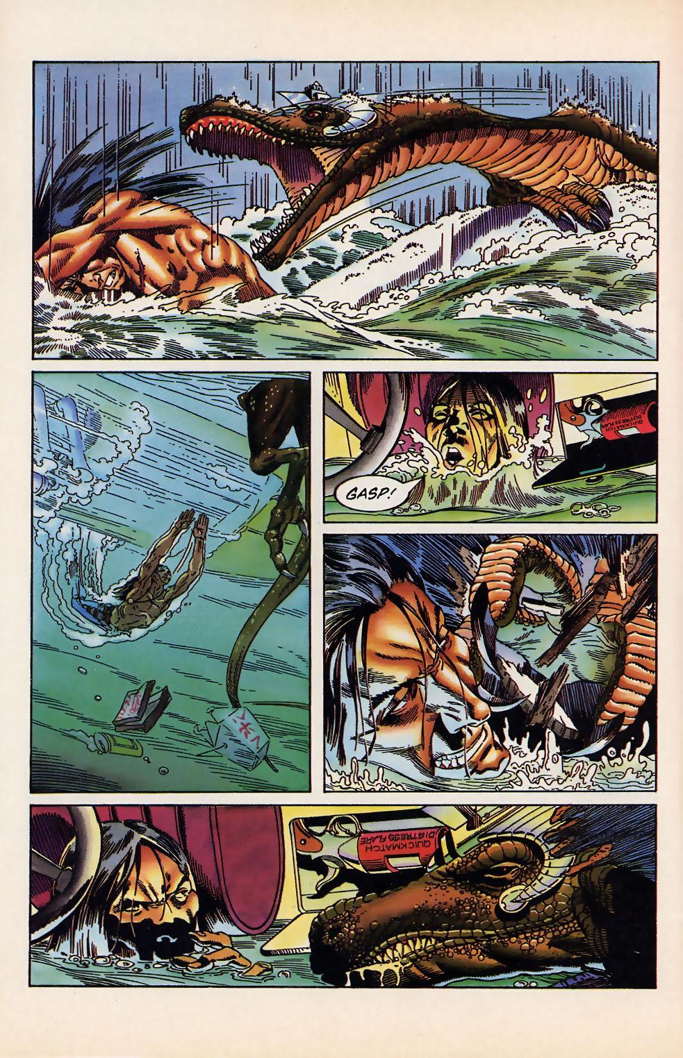 Read online Turok, Dinosaur Hunter (1993) comic -  Issue #12 - 20