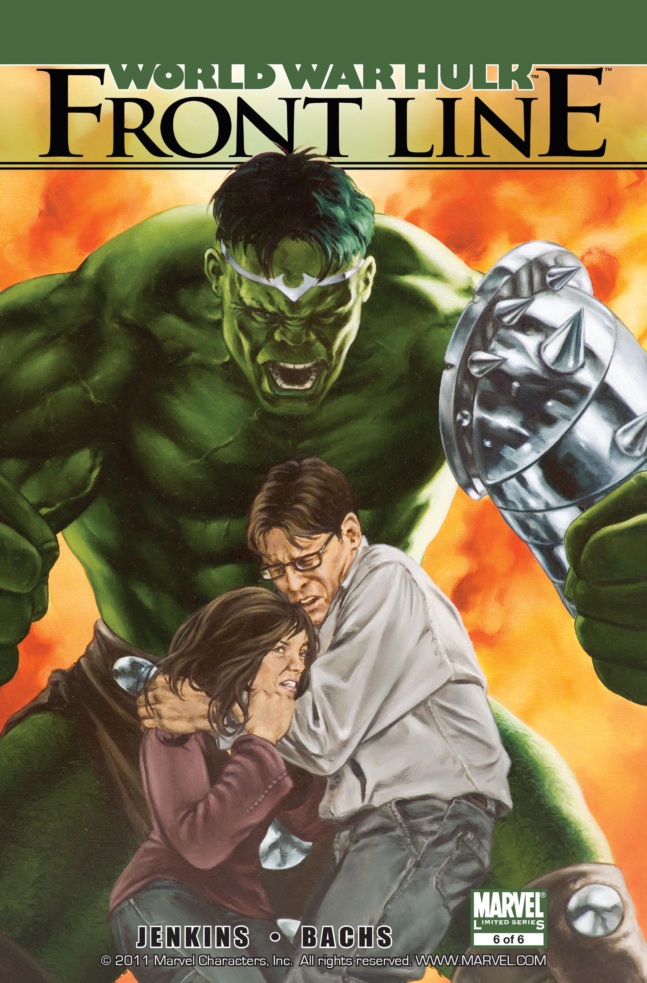 Read online World War Hulk: Front Line comic -  Issue #6 - 1