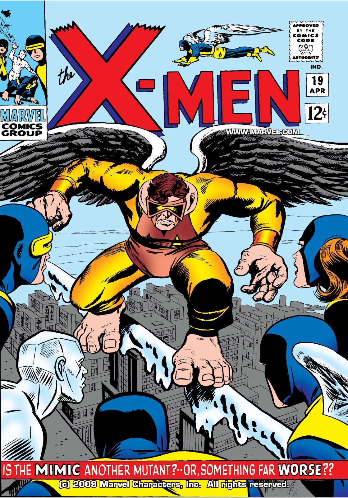 Uncanny X-Men (1963) issue 19 - Page 1