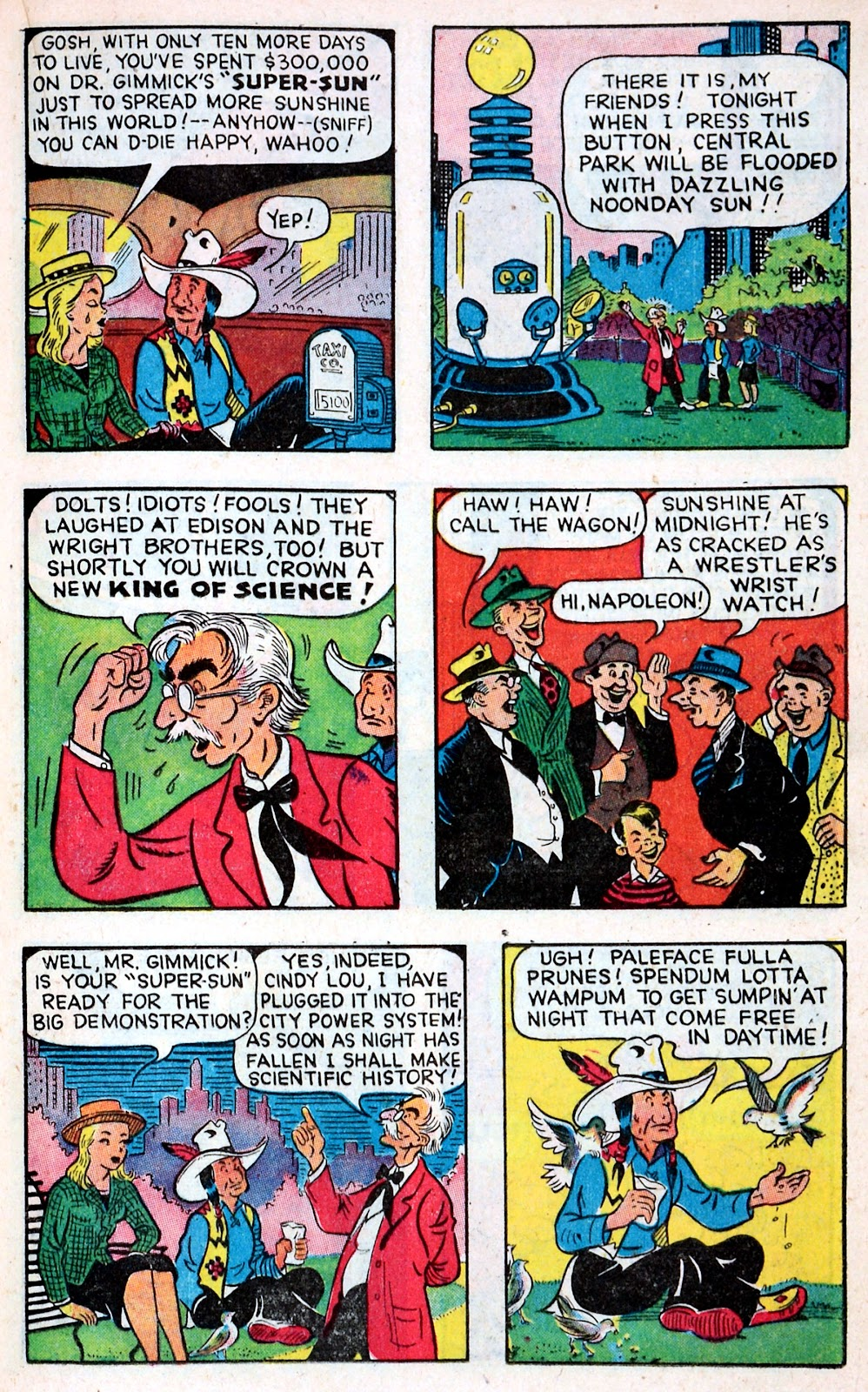 Read online Famous Funnies comic -  Issue #149 - 19