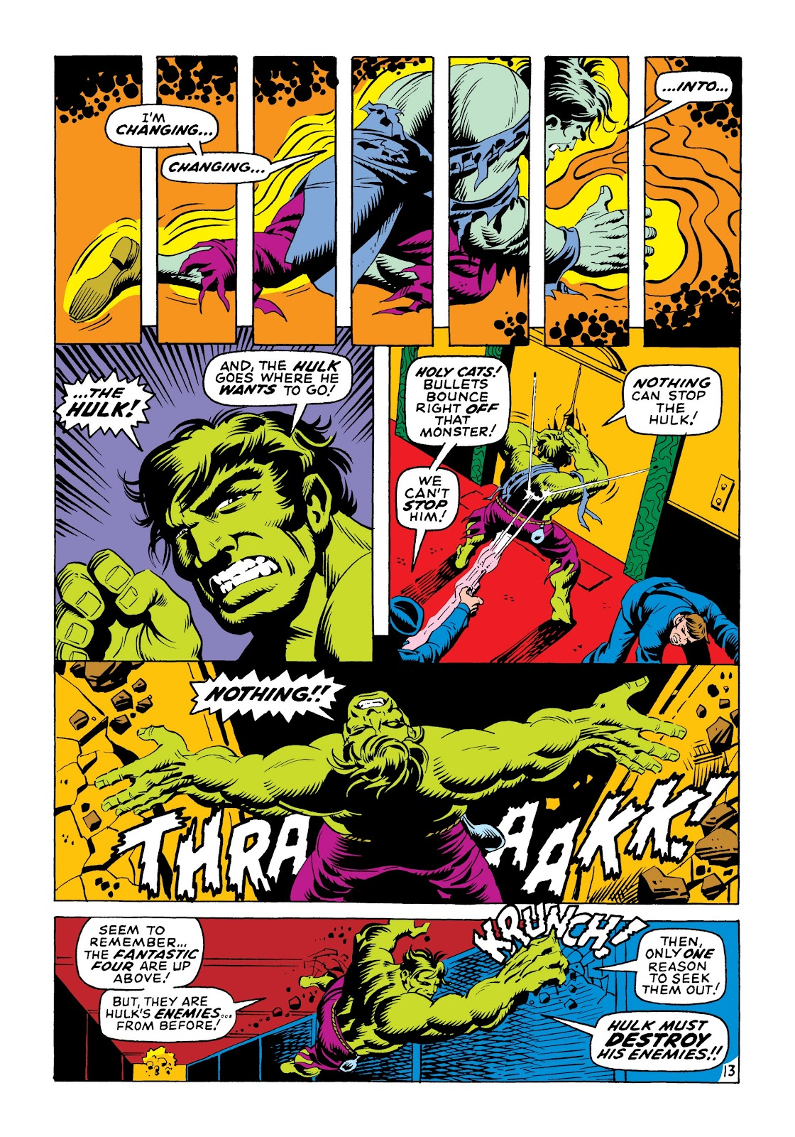 Read online Marvel Masterworks: The Incredible Hulk comic -  Issue # TPB 6 (Part 1) - 22